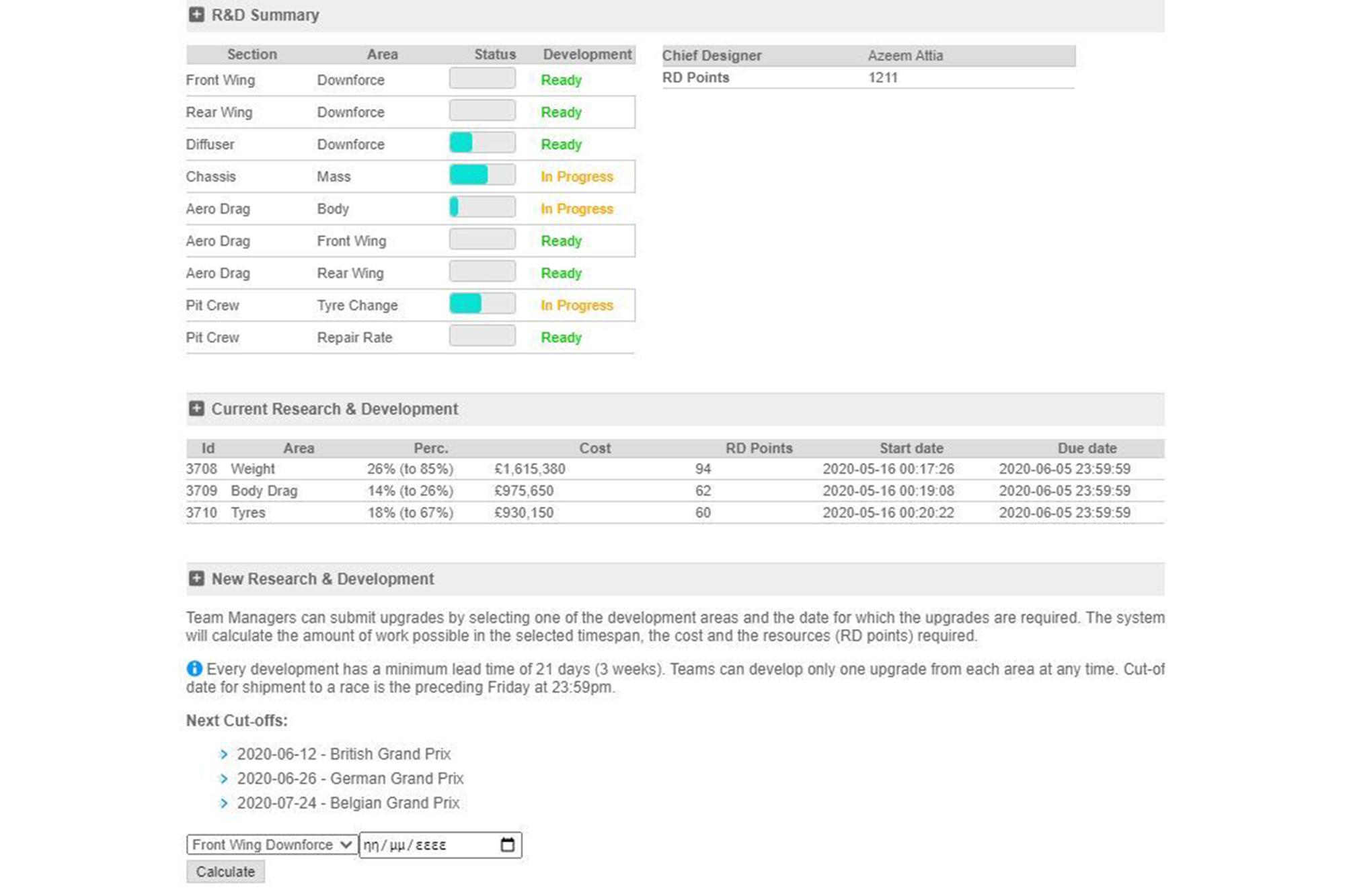 Gpvwc Upgrades Red Archer Screenshot