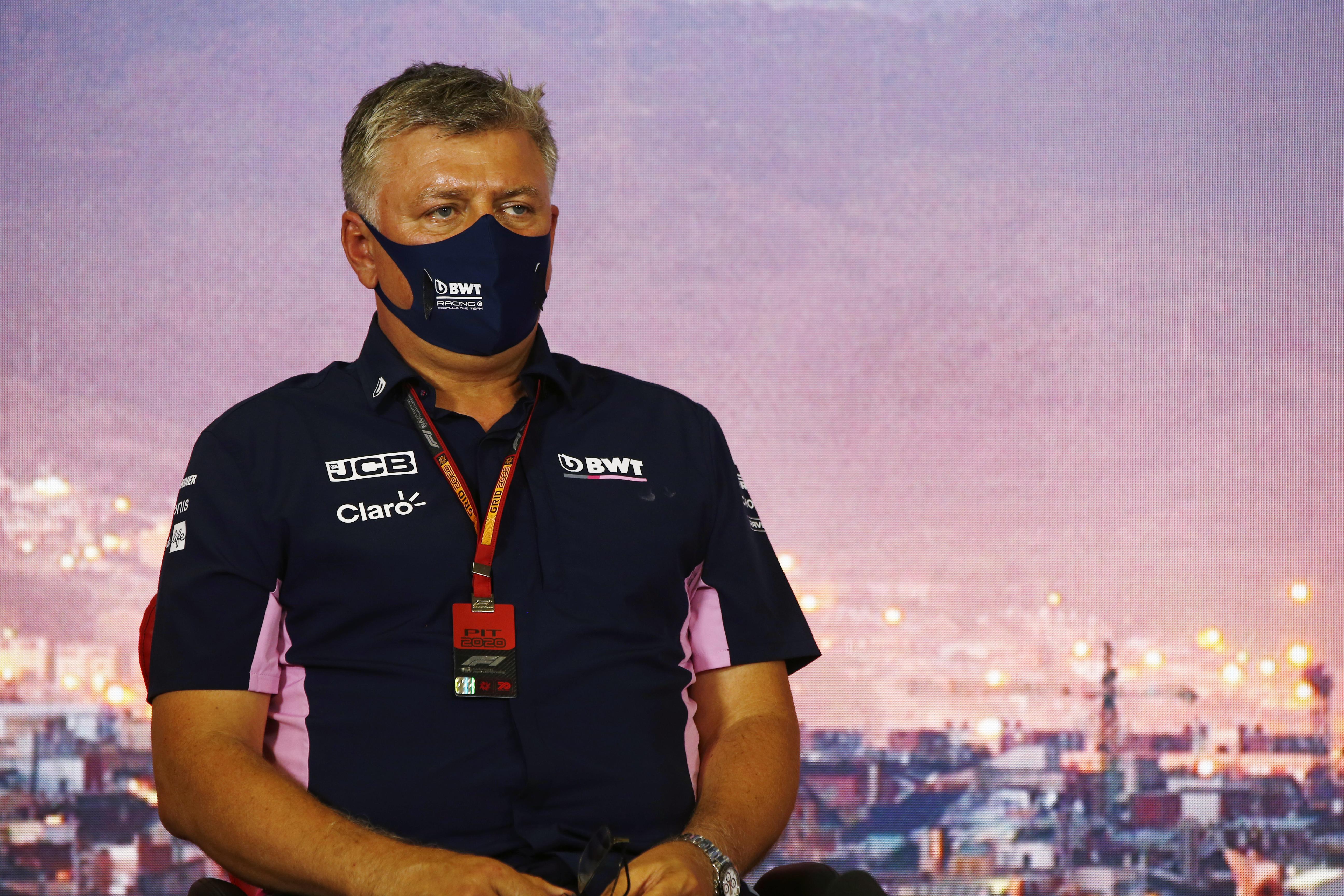 Otmar Szafnauer Racing Point F1 Barcelona 2020