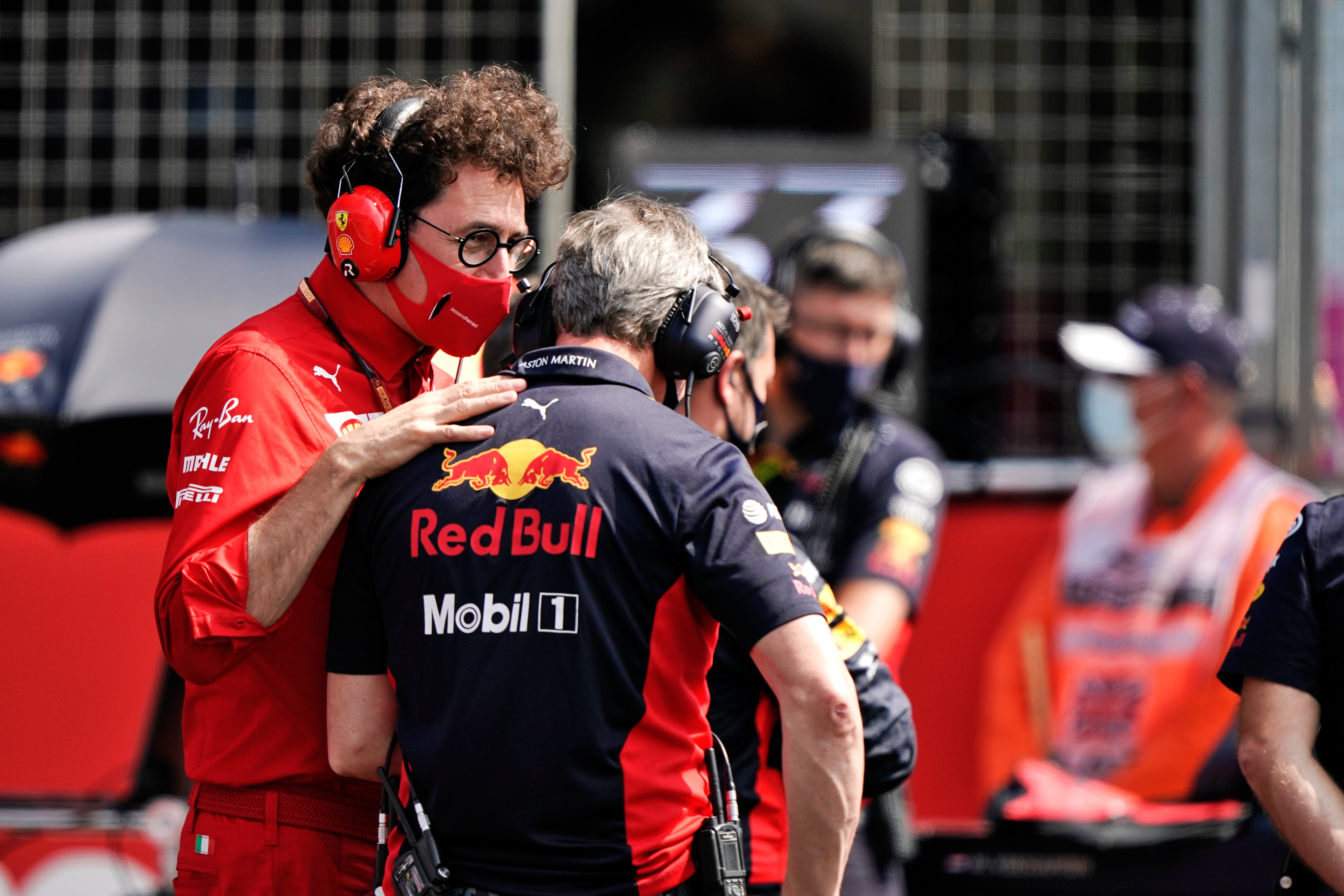 Mattia Binotto Ferrari F1 2020