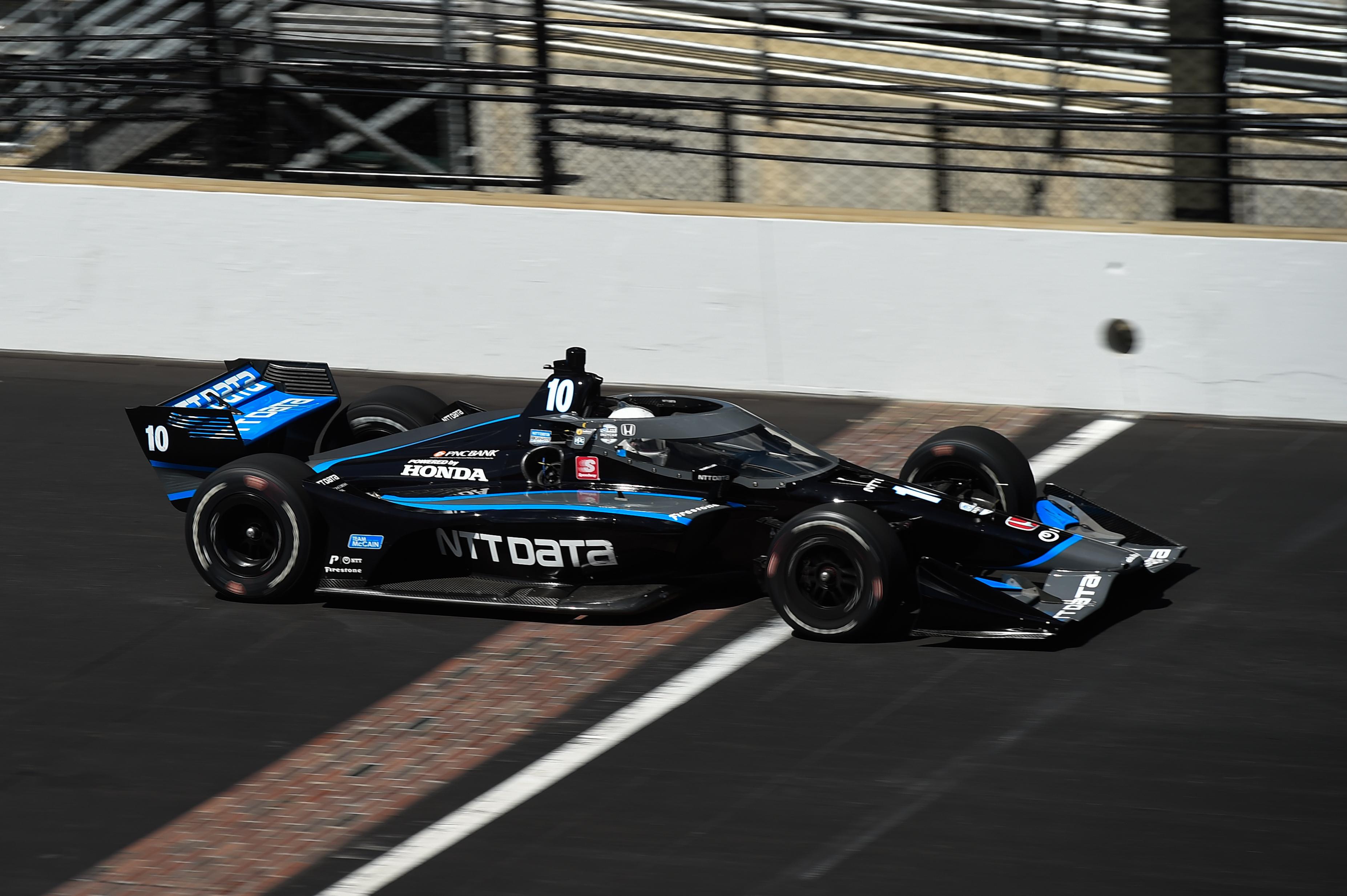 Jimmie Johnson IndyCar test