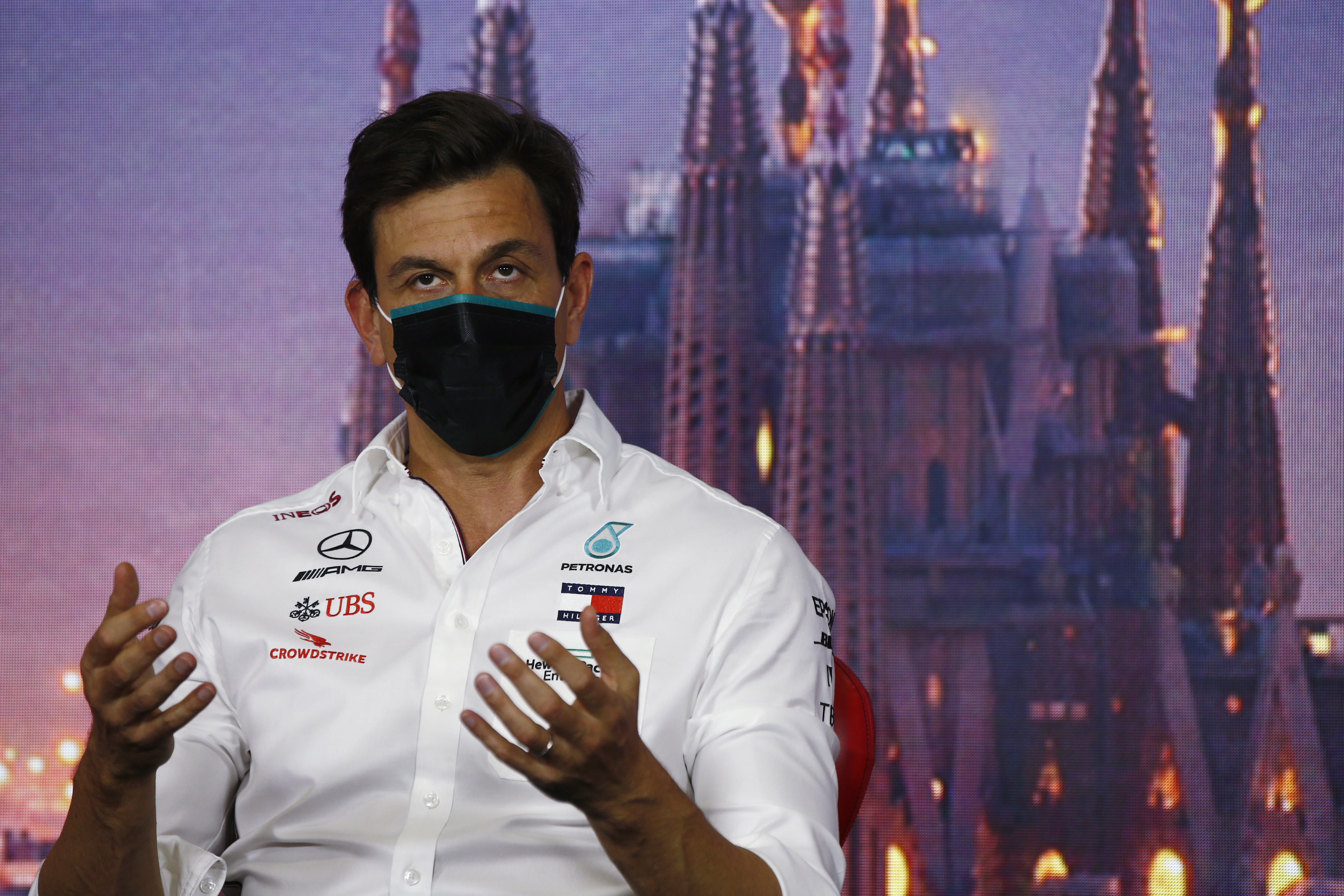 Toto Wolff Mercedes F1 2020