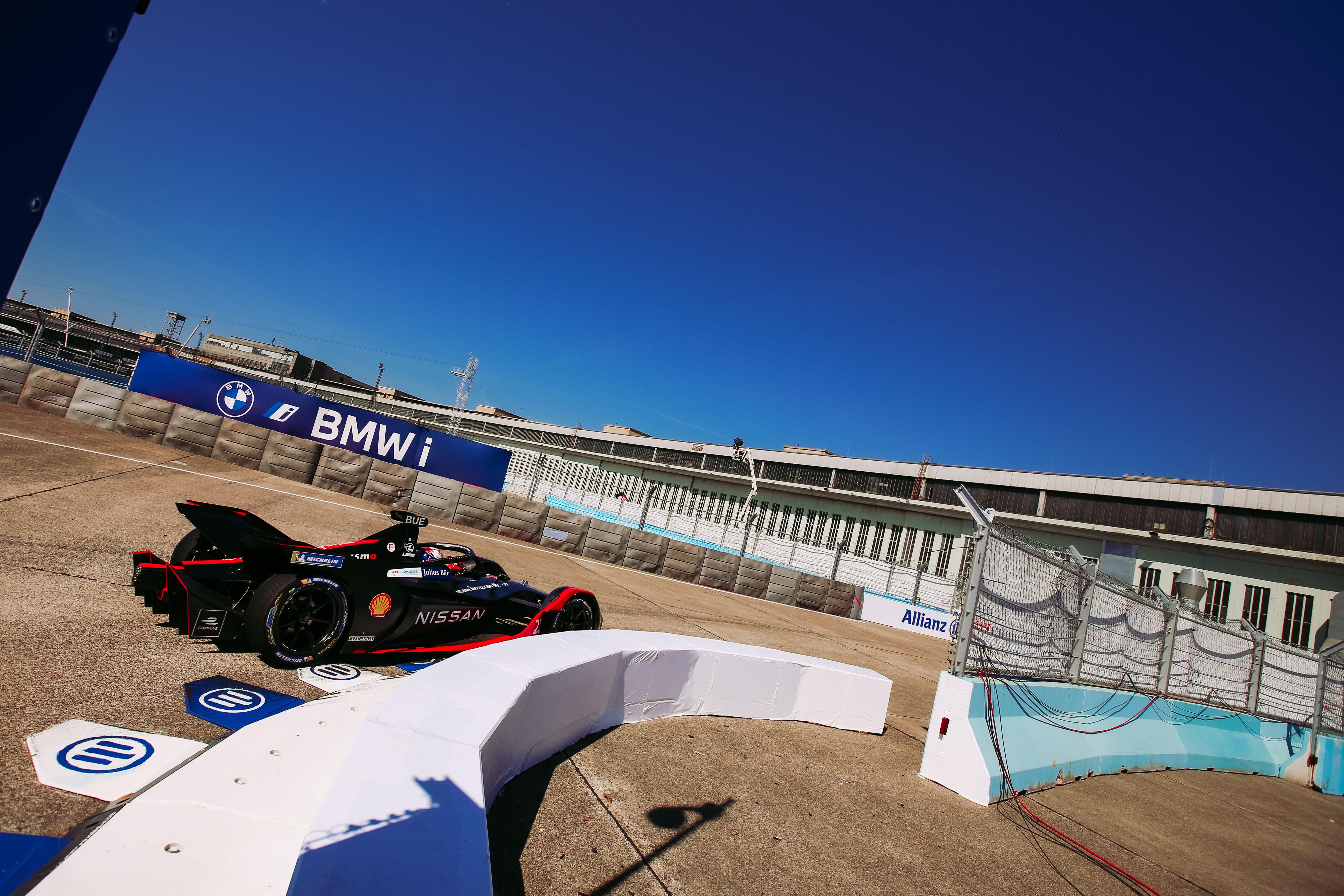 Sebastien Buemi Nissan Berlin Formula E 2020