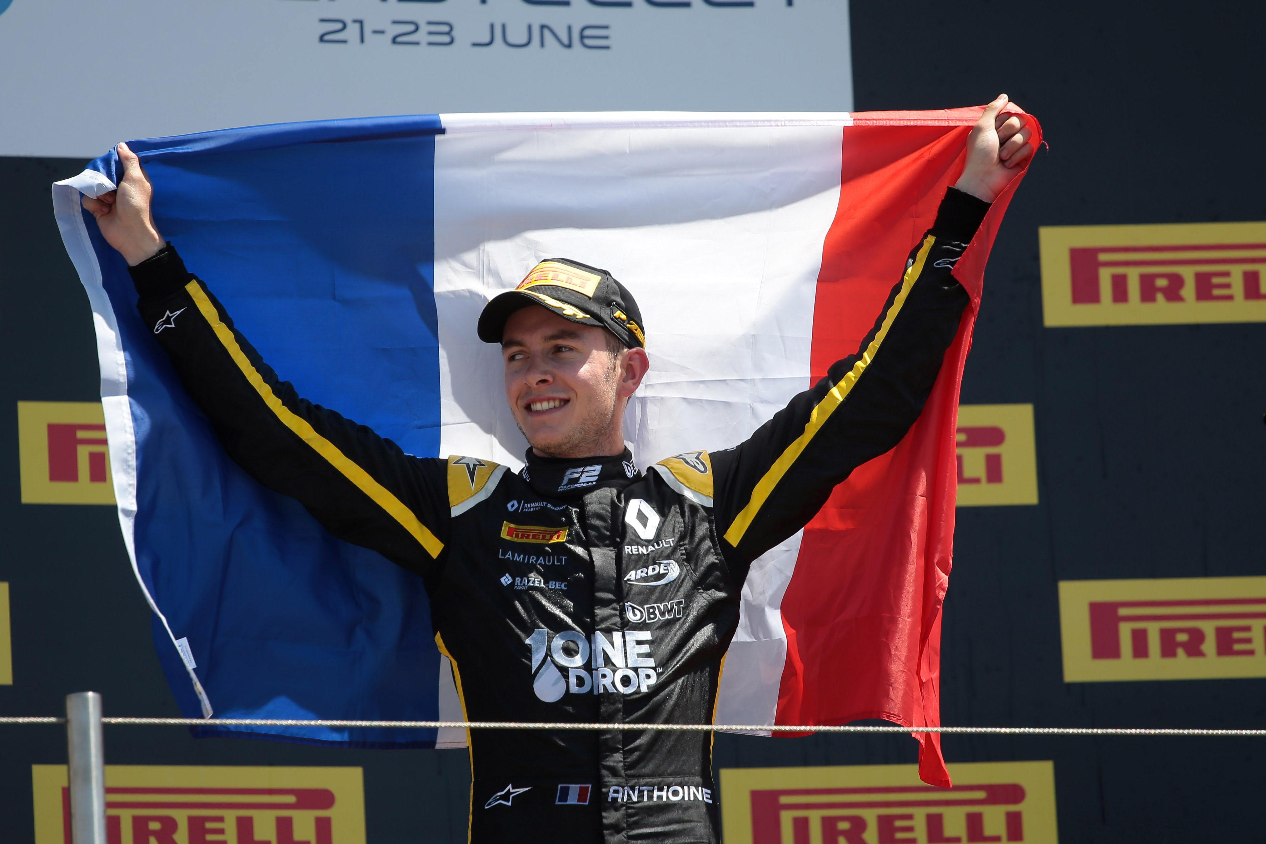 Anthoine Hubert wins Paul Ricard F2 2019