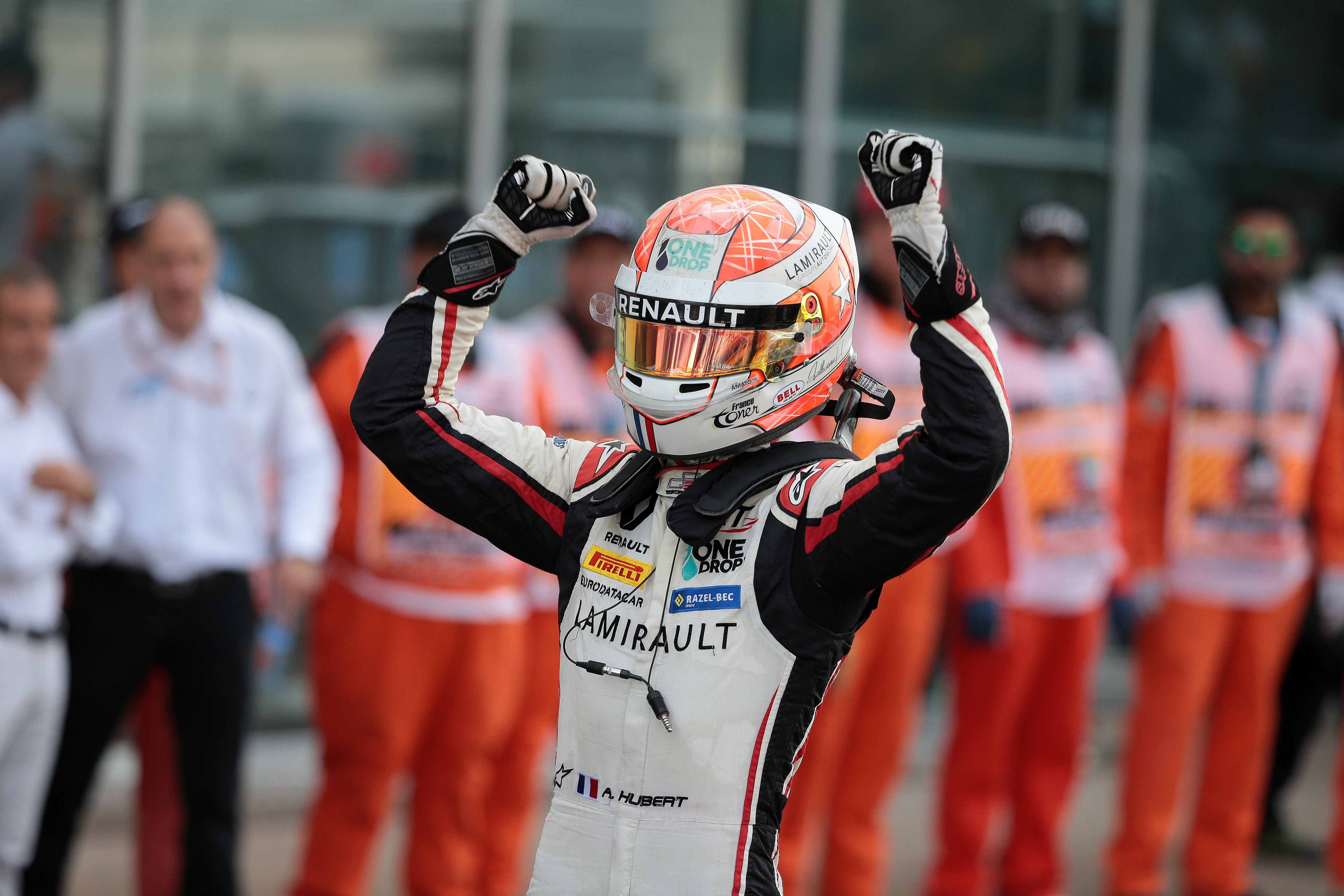 Anthoine Hubert wins 2018 GP3 title