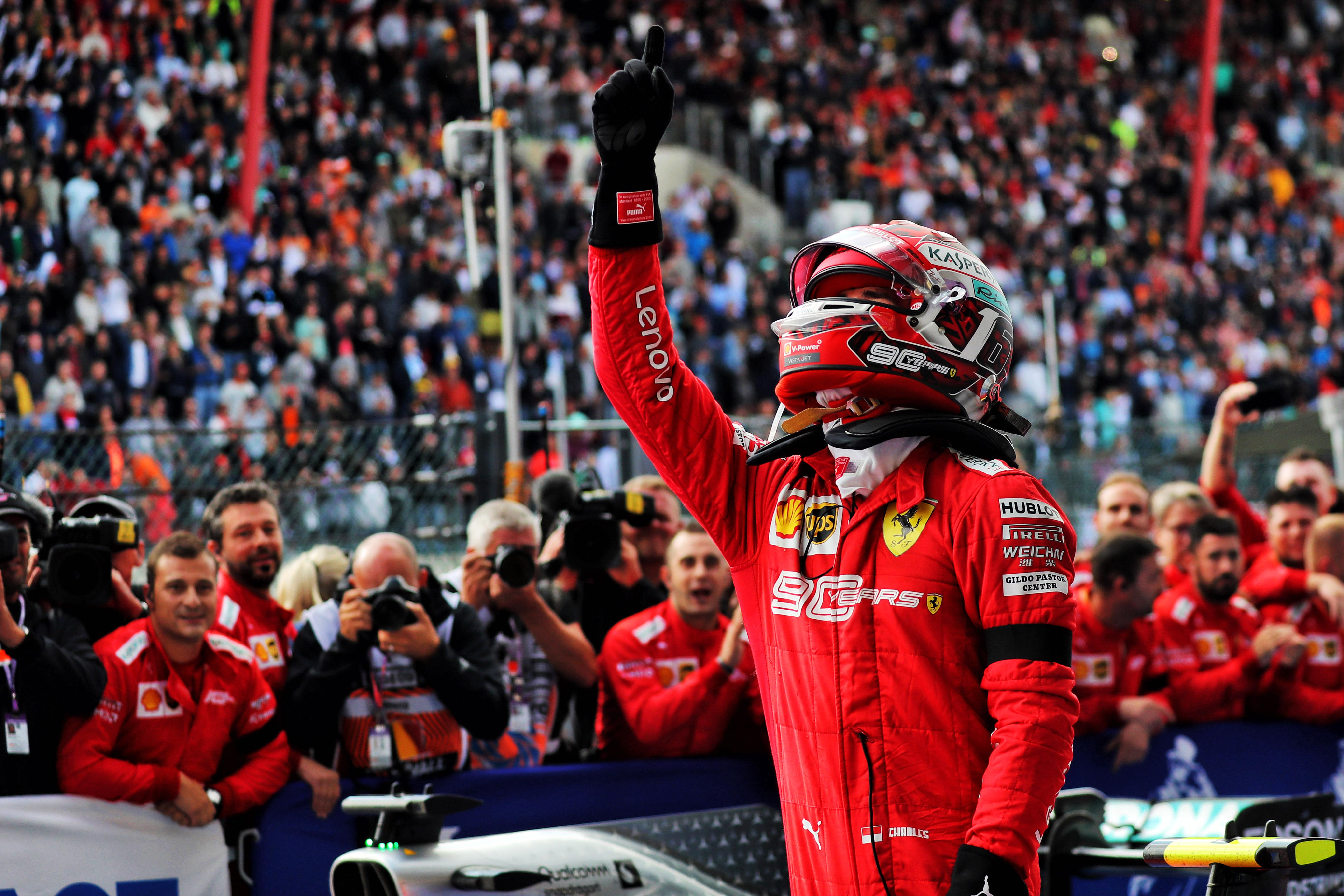 Charles Leclerc wins 2019 Belgian Grand Prix