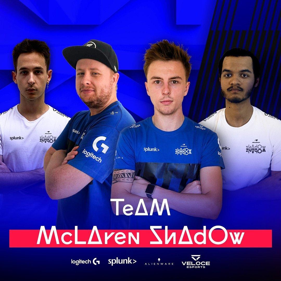 McLaren Shadow line-up 2020