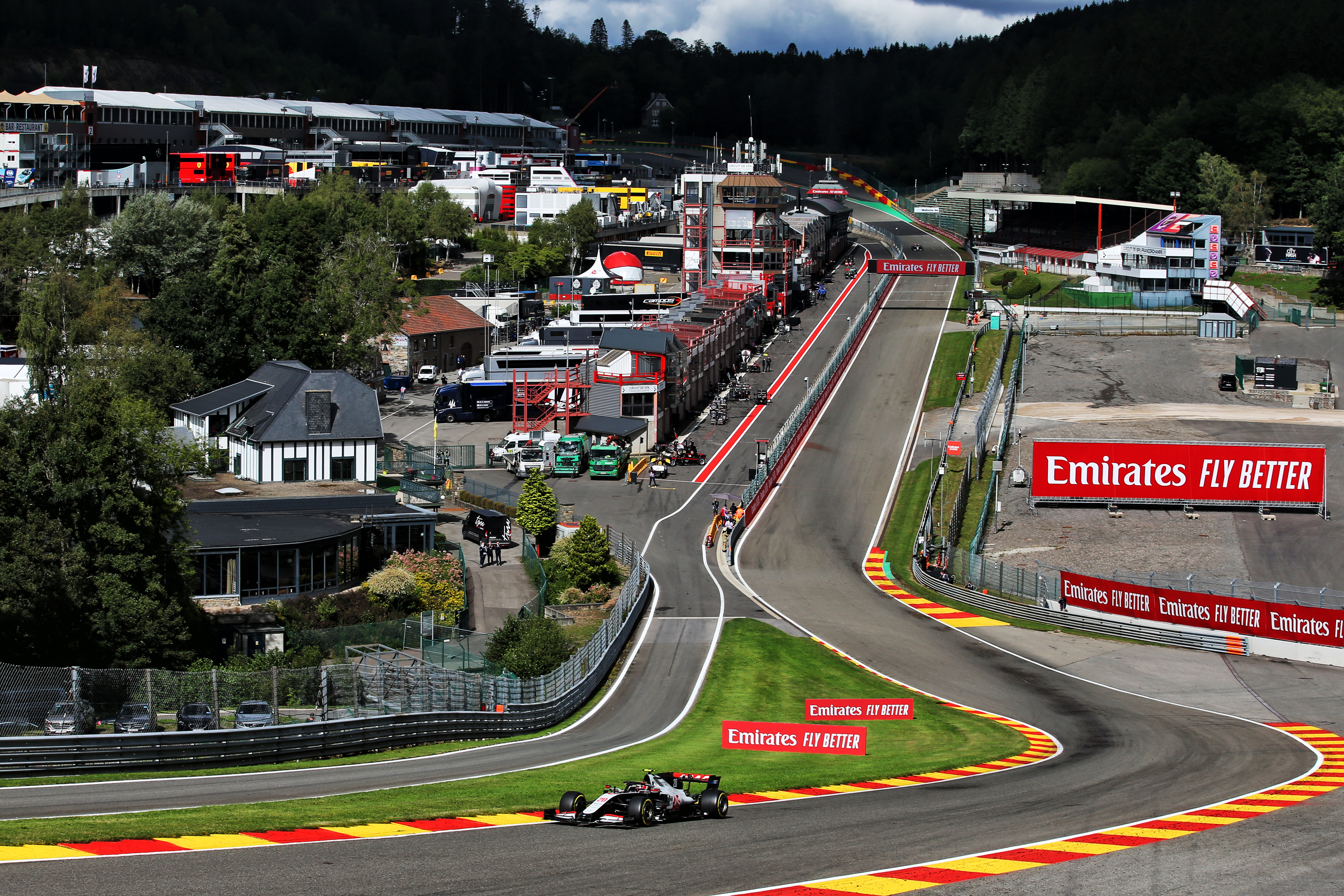 Motor Racing Formula One World Championship Belgian Grand Prix Qualifying Day Spa Francorchamps, Belgium