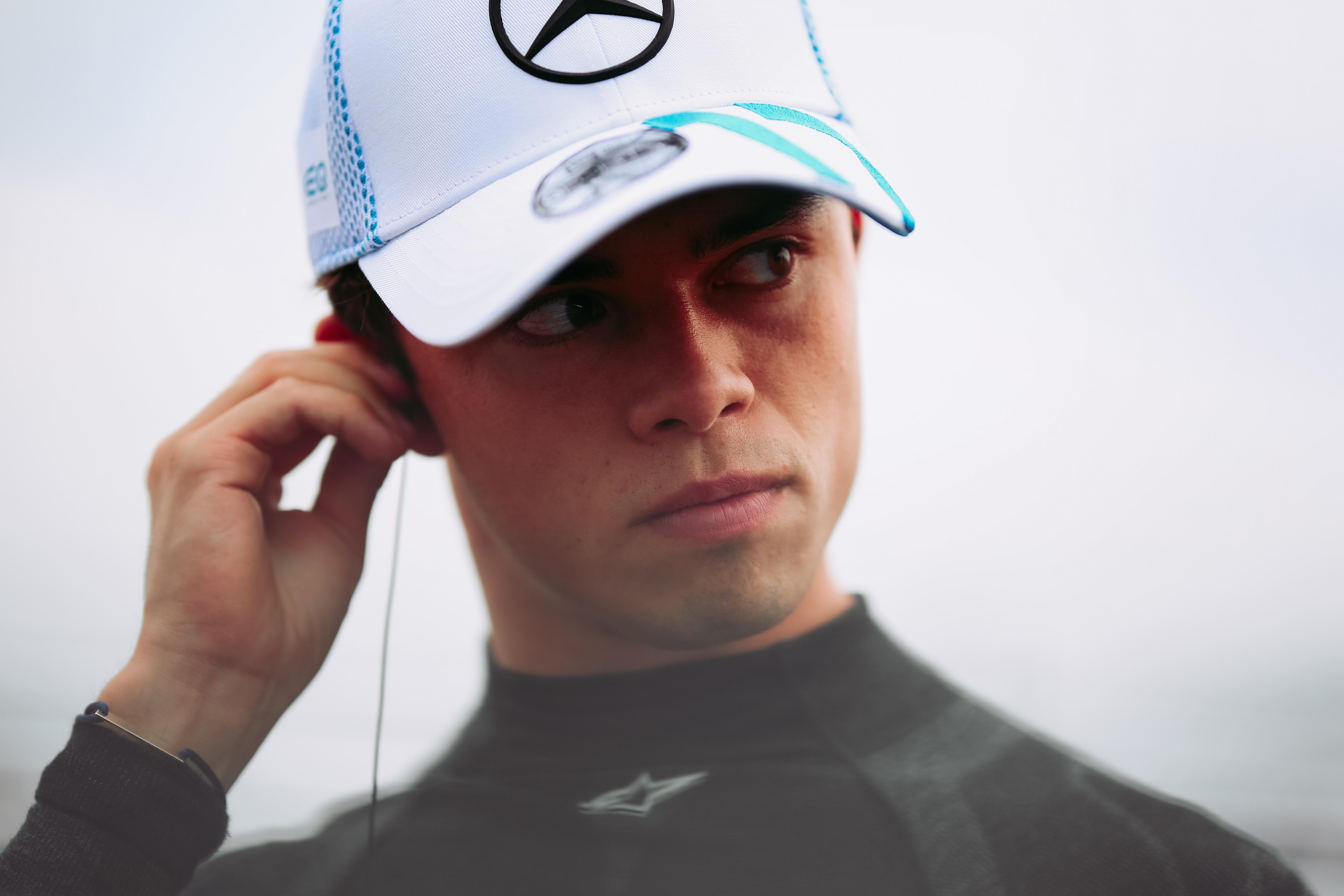 Nyck de Vries Mercedes Formula E 2020