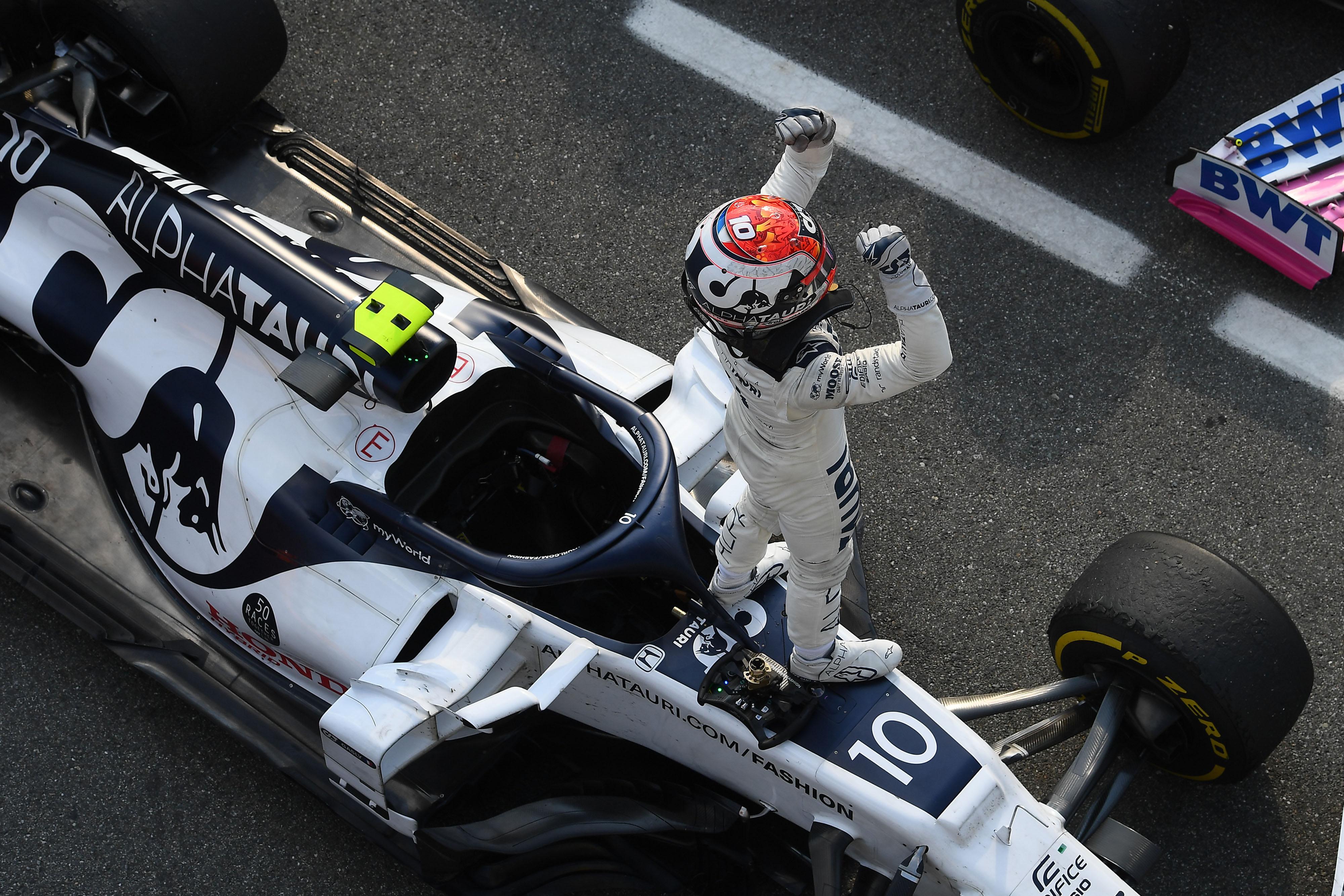 Pierre Gasly wins Italian Grand Prix 2020 Monza