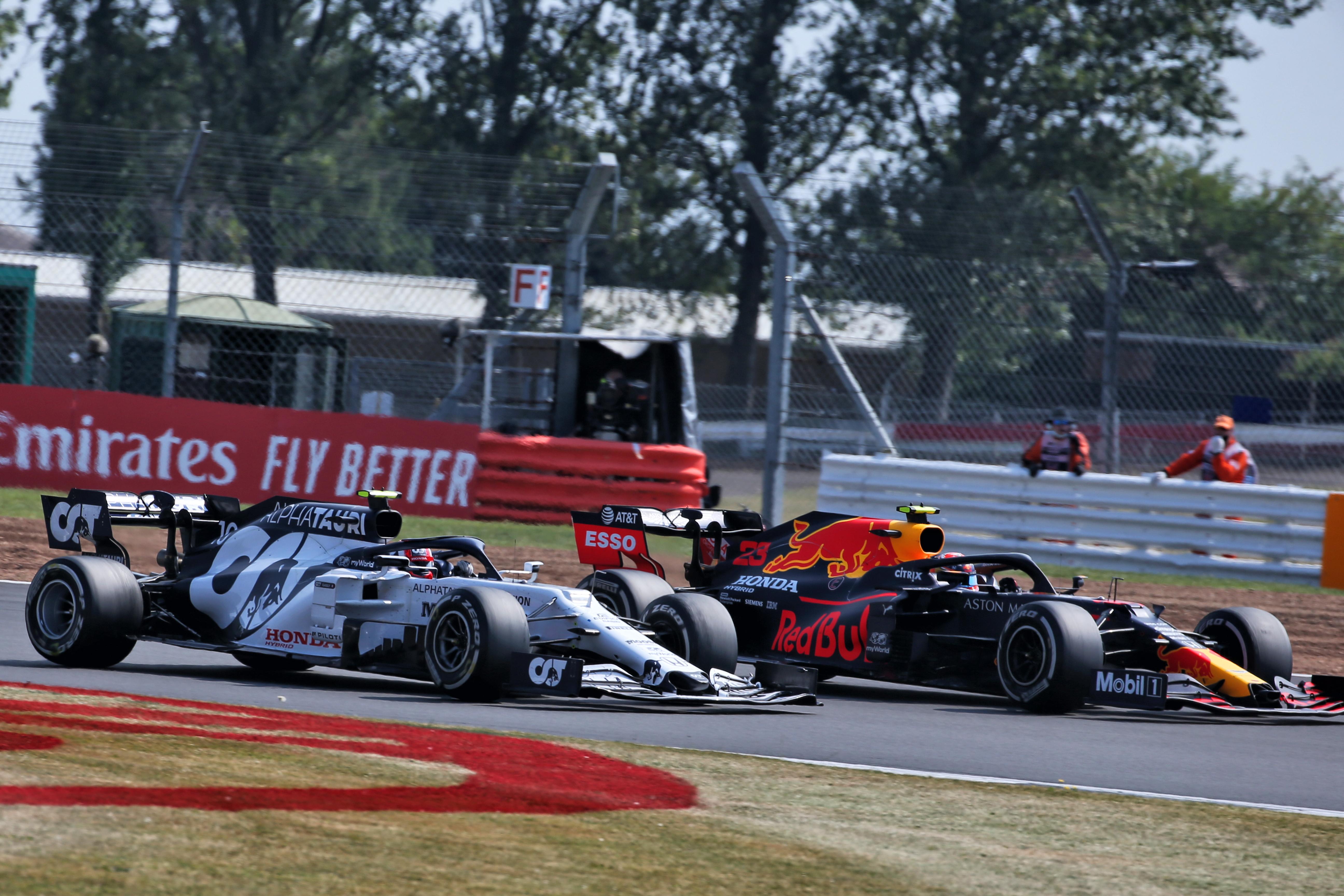 Pierre Gasly Alex Albon AlphaTauri Red Bull F1 2020