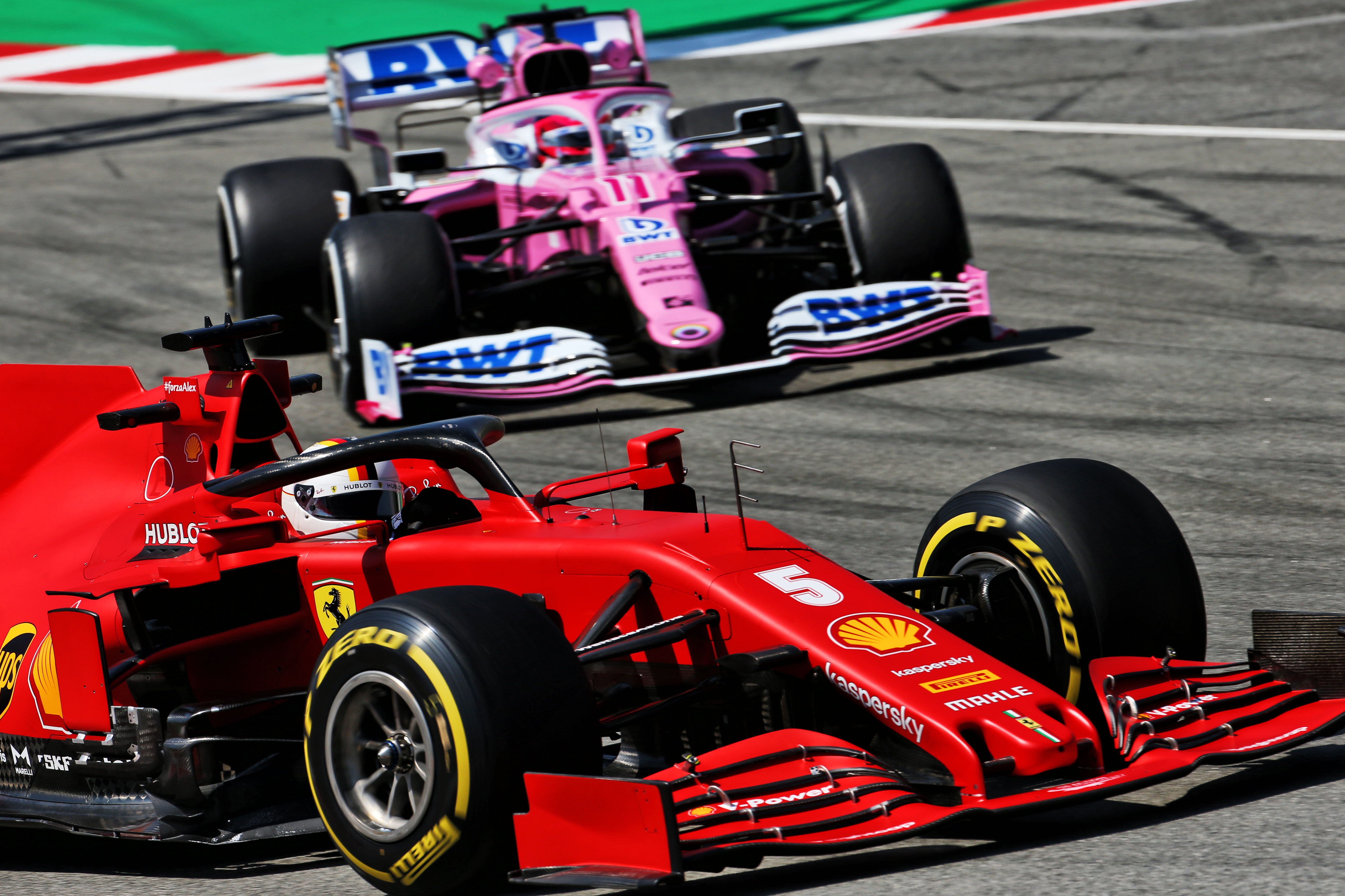 Motor Racing Formula One World Championship Spanish Grand Prix Practice Day Barcelona, Spain