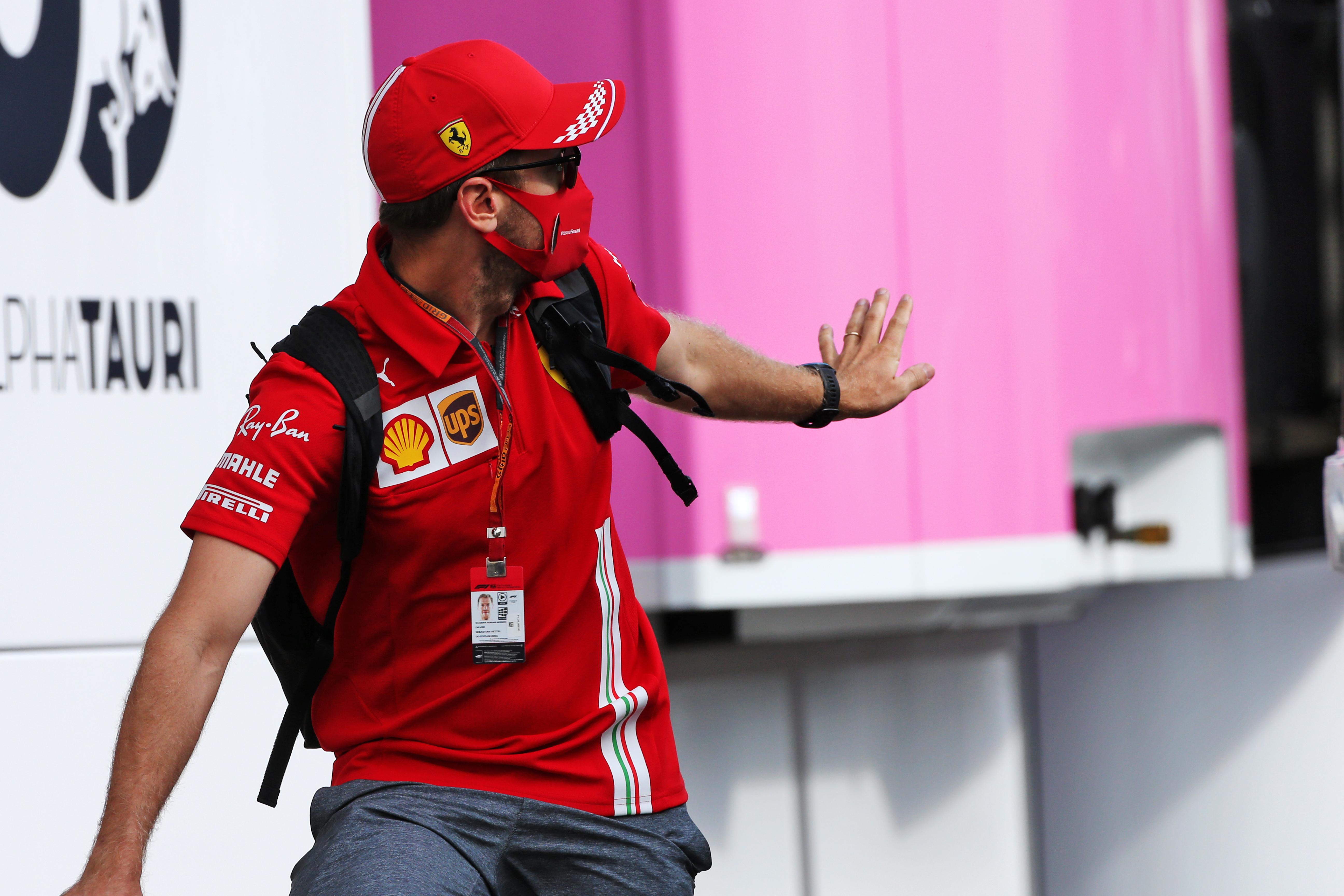 Motor Racing Formula One World Championship Tuscan Grand Prix Preparation Day Mugello, Italy