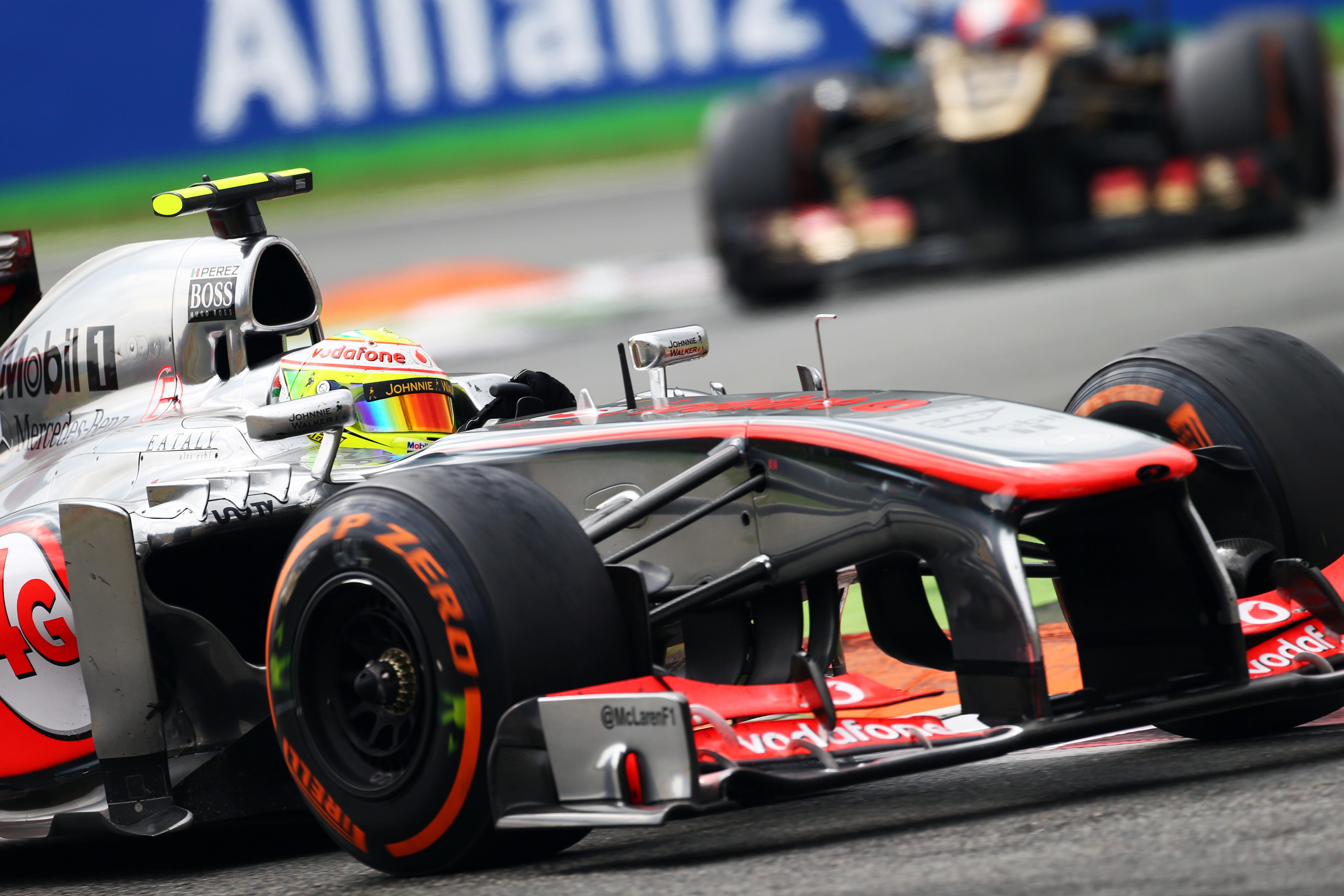 Sergio Perez McLaren Monza 2013
