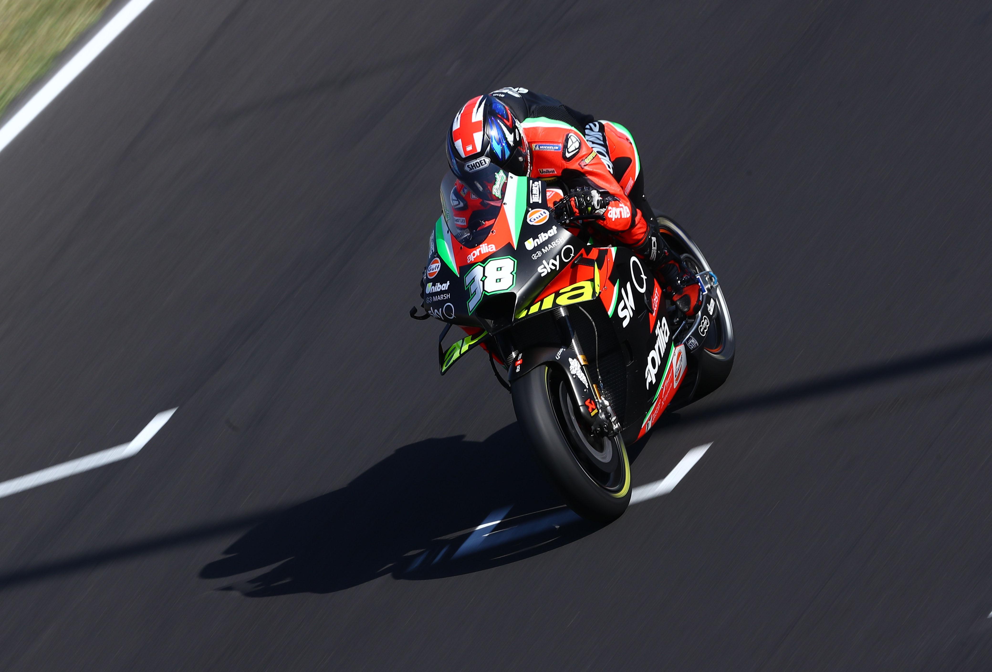 Bradley Smith Aprilia Misano MotoGP 2020