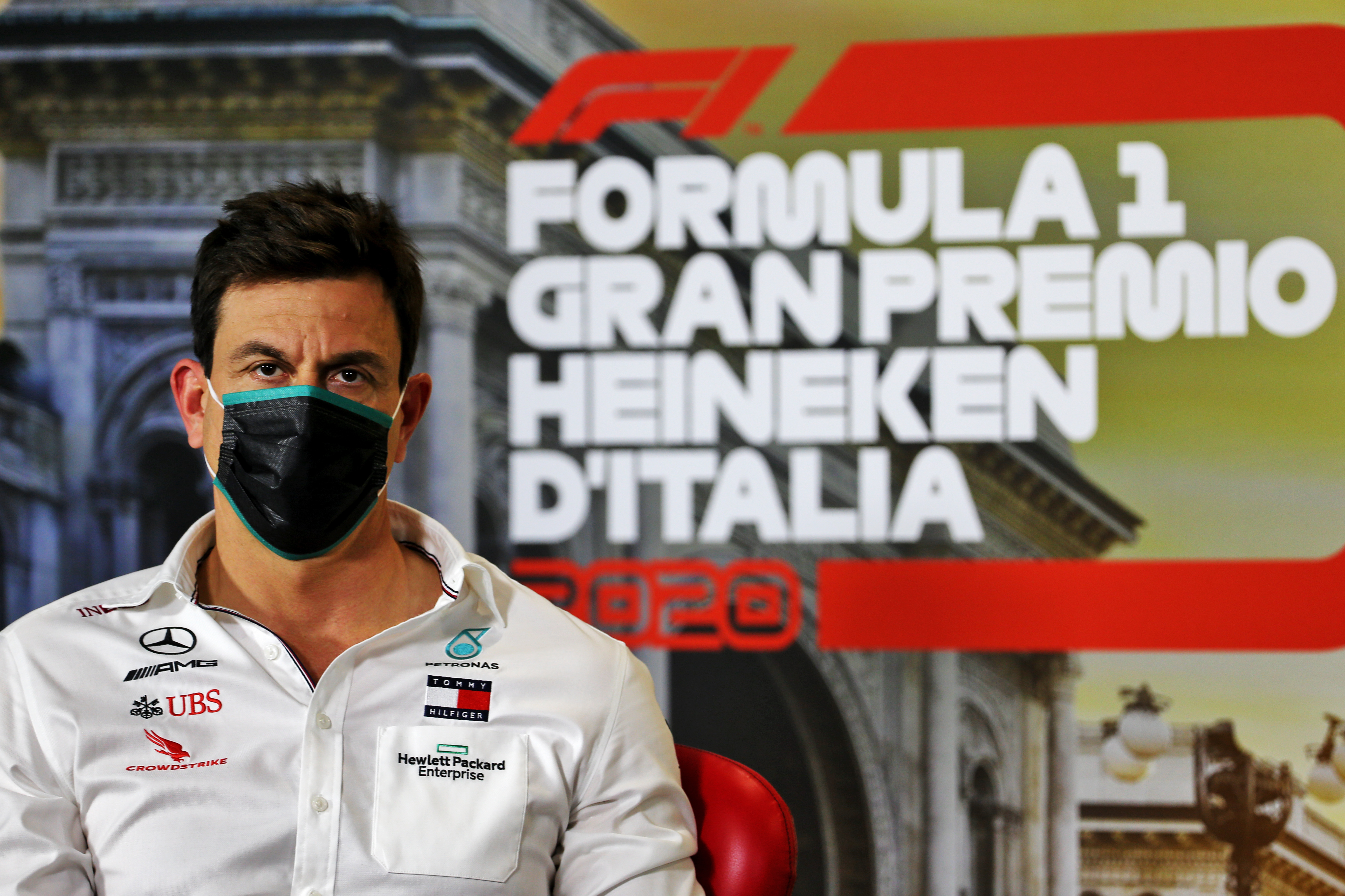 Motor Racing Formula One World Championship Italian Grand Prix Practice Day Monza, Italy