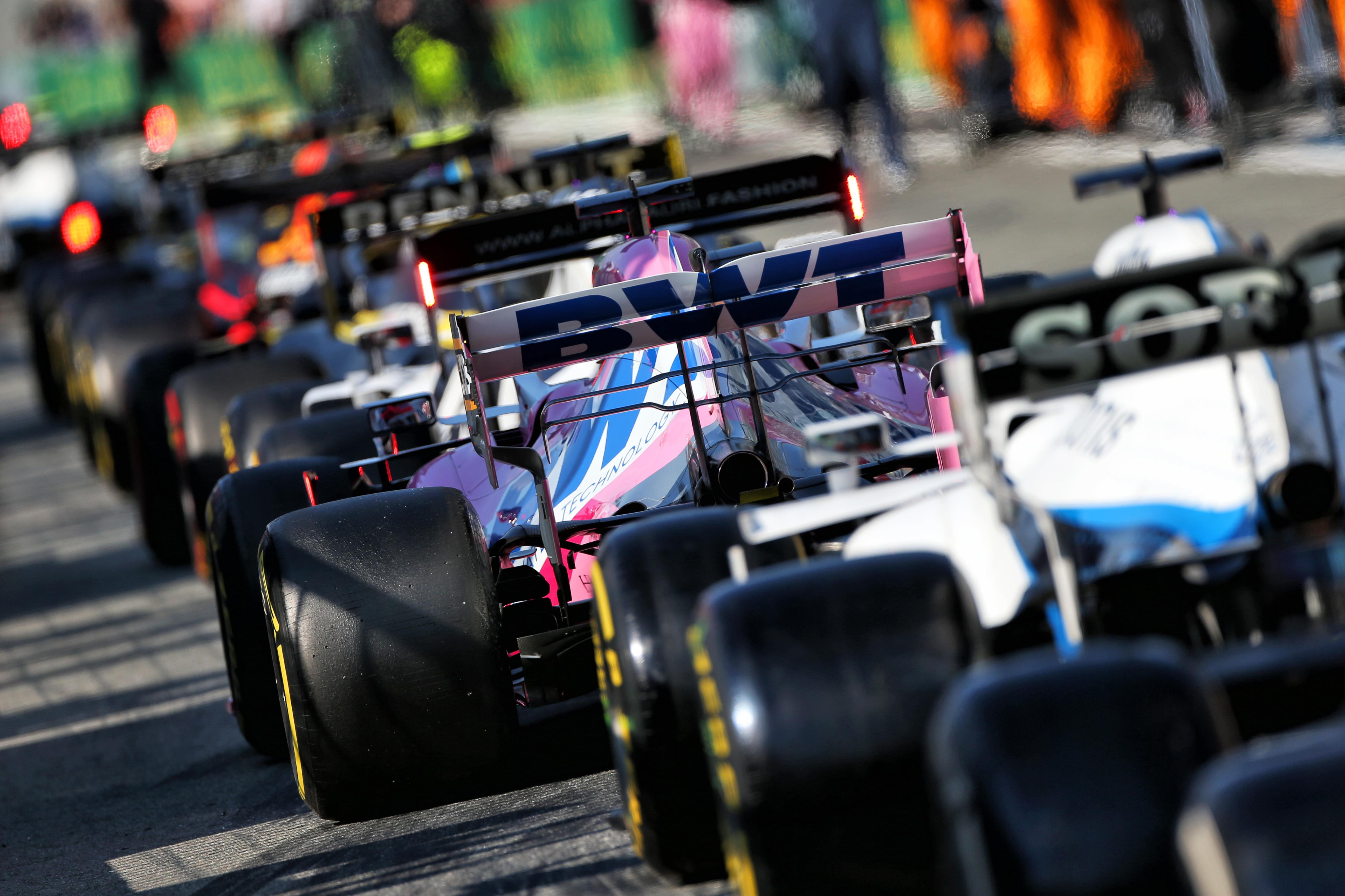 F1 teams Monza 2020