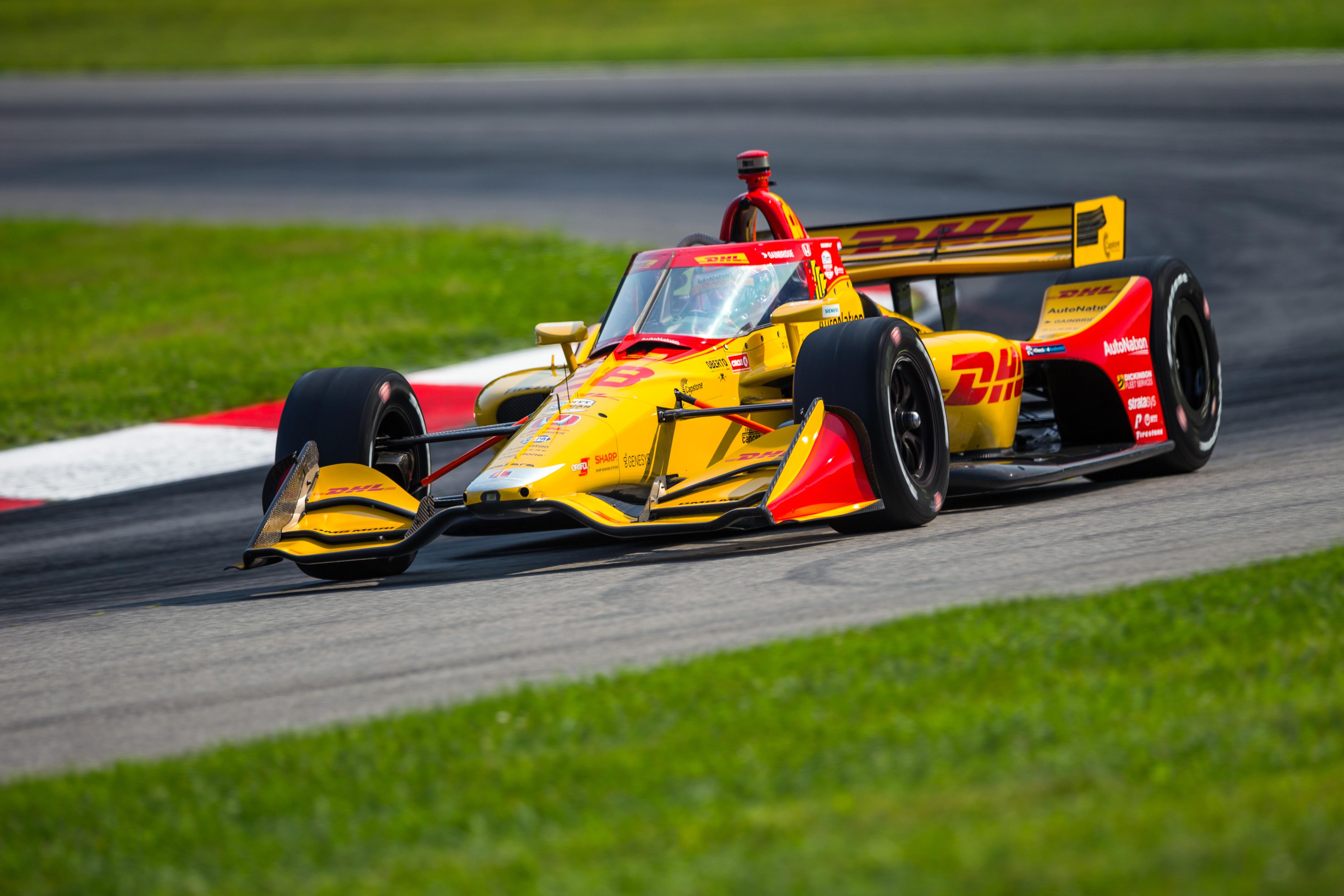 Ryan Hunter-Reay Mid-Ohio IndyCar 2020