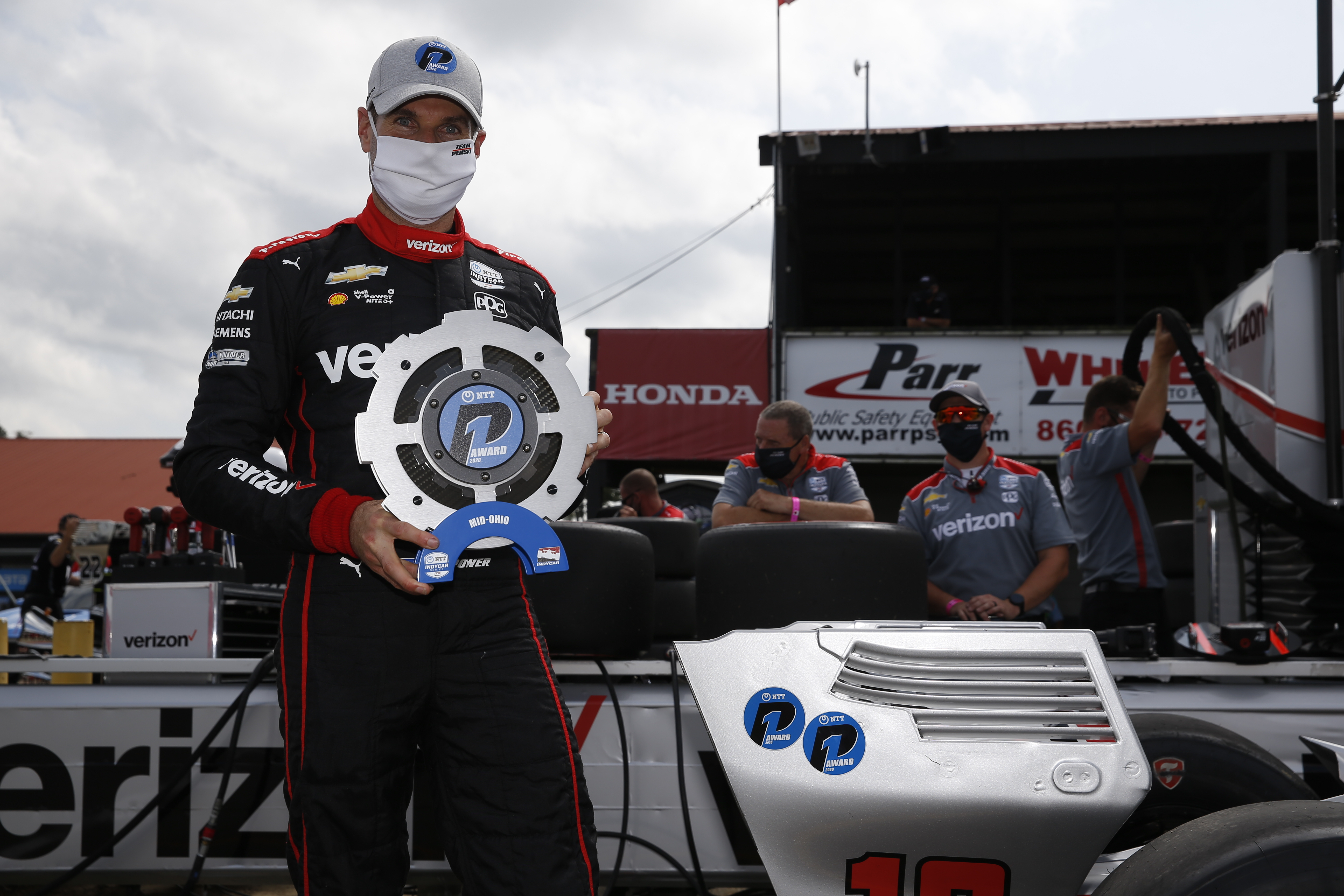 Will Power takes Mid-Ohio IndyCar pole 2020