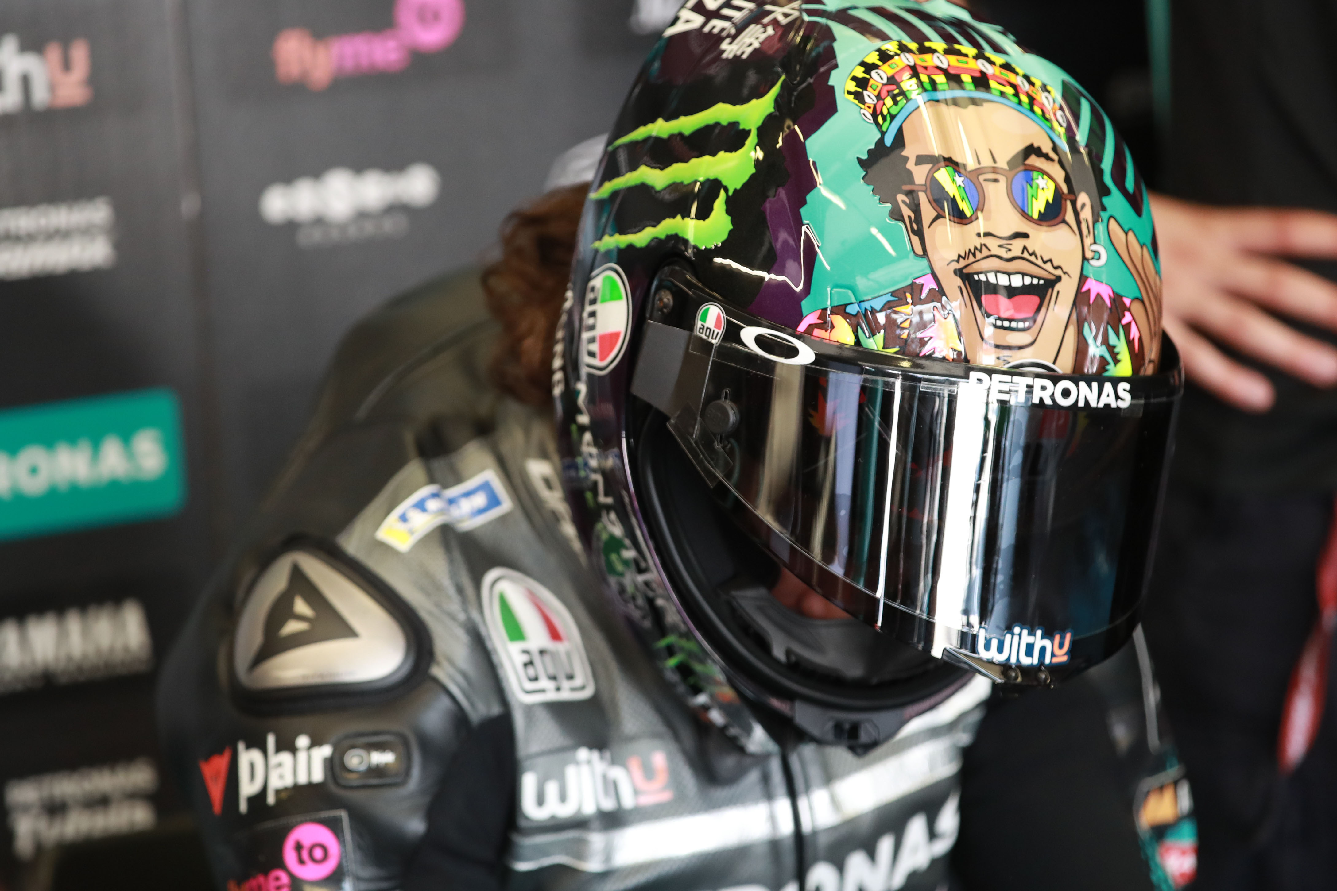 Franco Morbidelli helmet