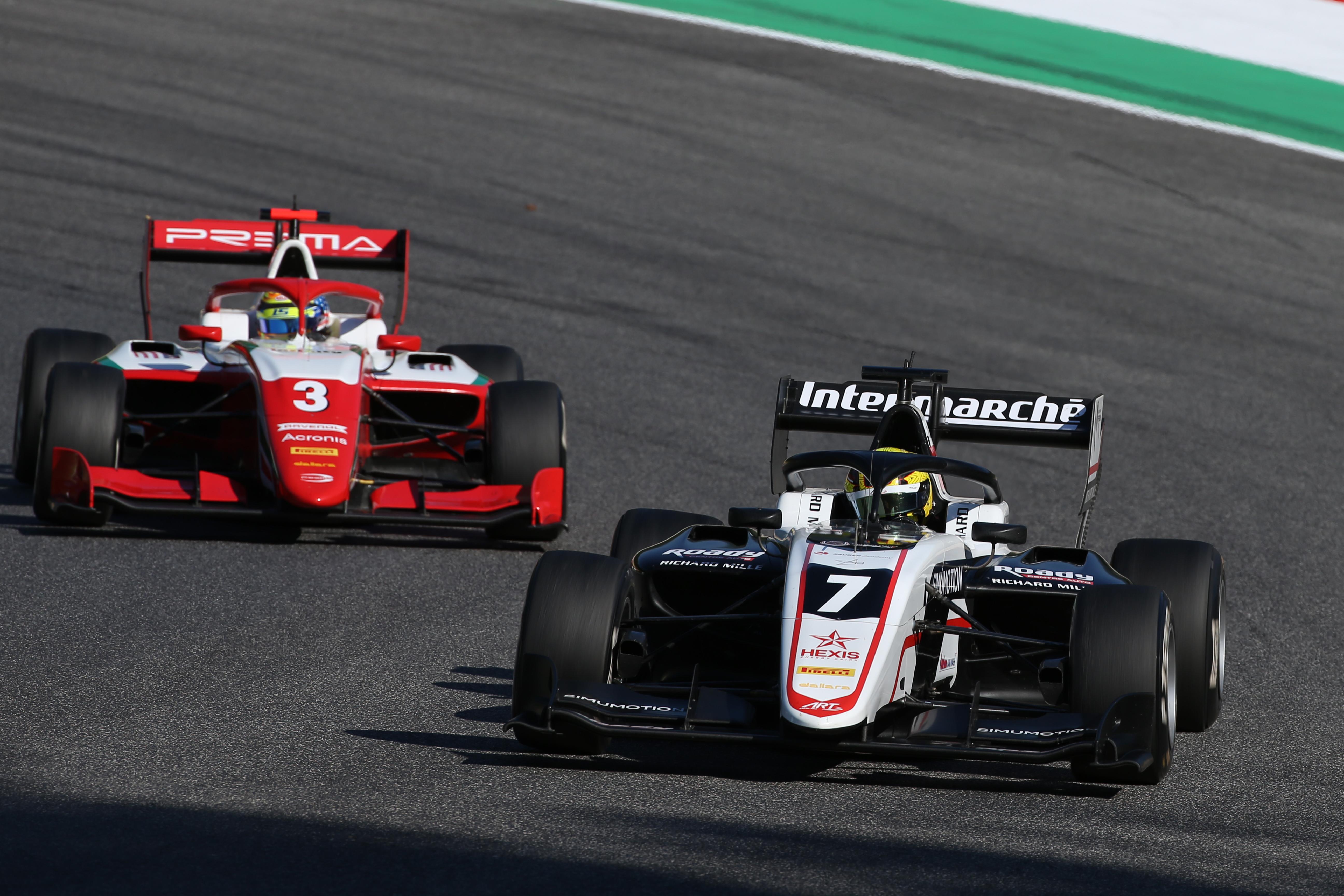 Motor Racing Fia Formula 3 Championship Saturday Mugello, Italy