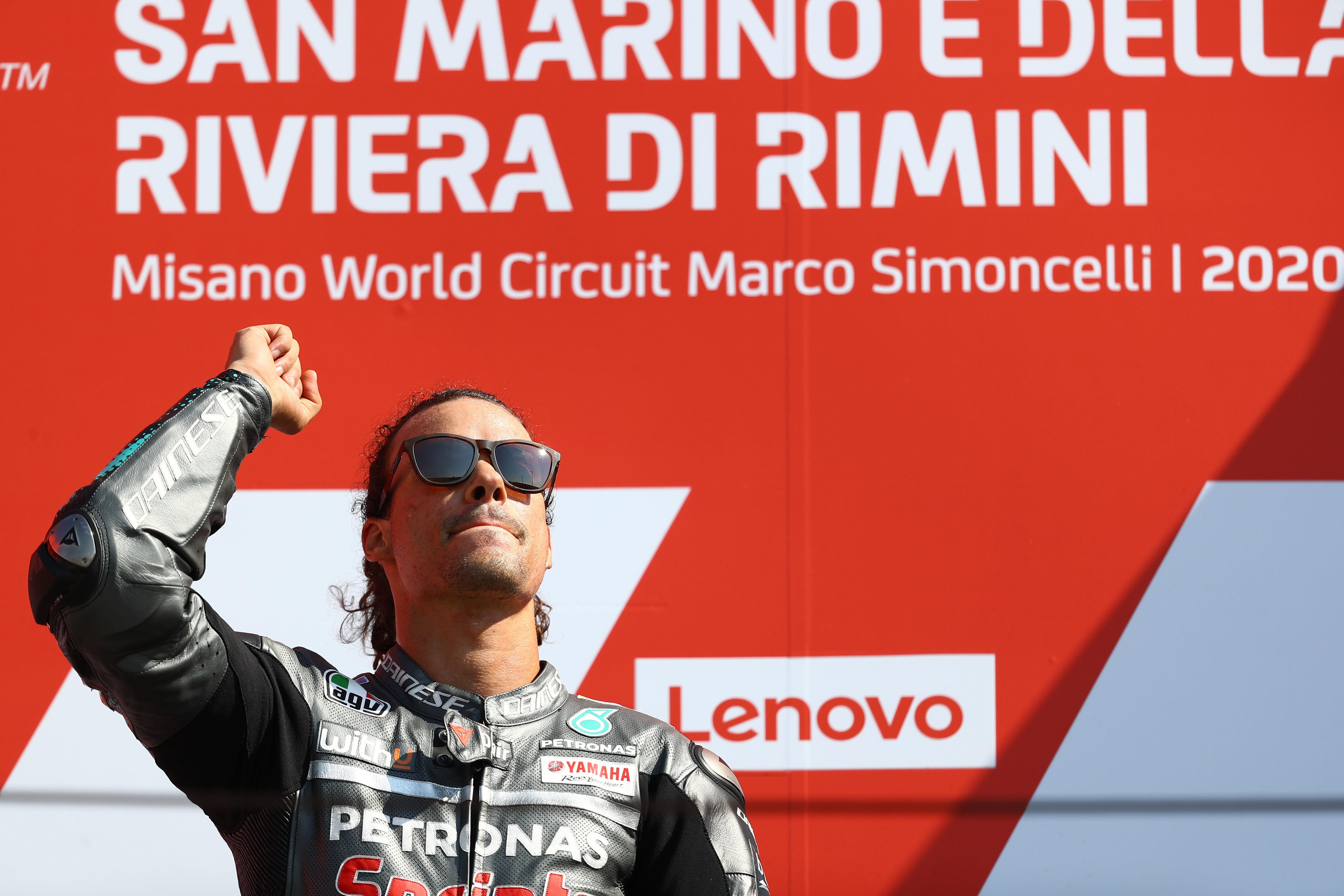 Franco Morbidelli wins Misano MotoGP 2020