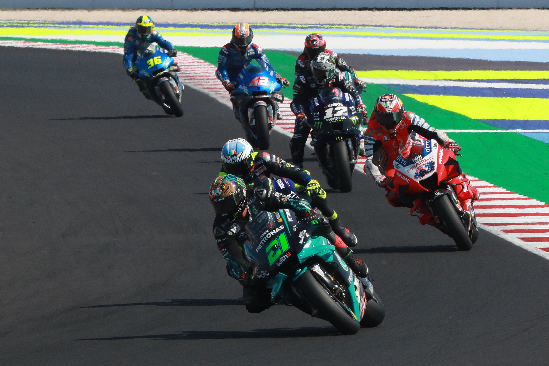 Franco Morbidelli Petronas SRT Yamaha Misano MotoGP 2020