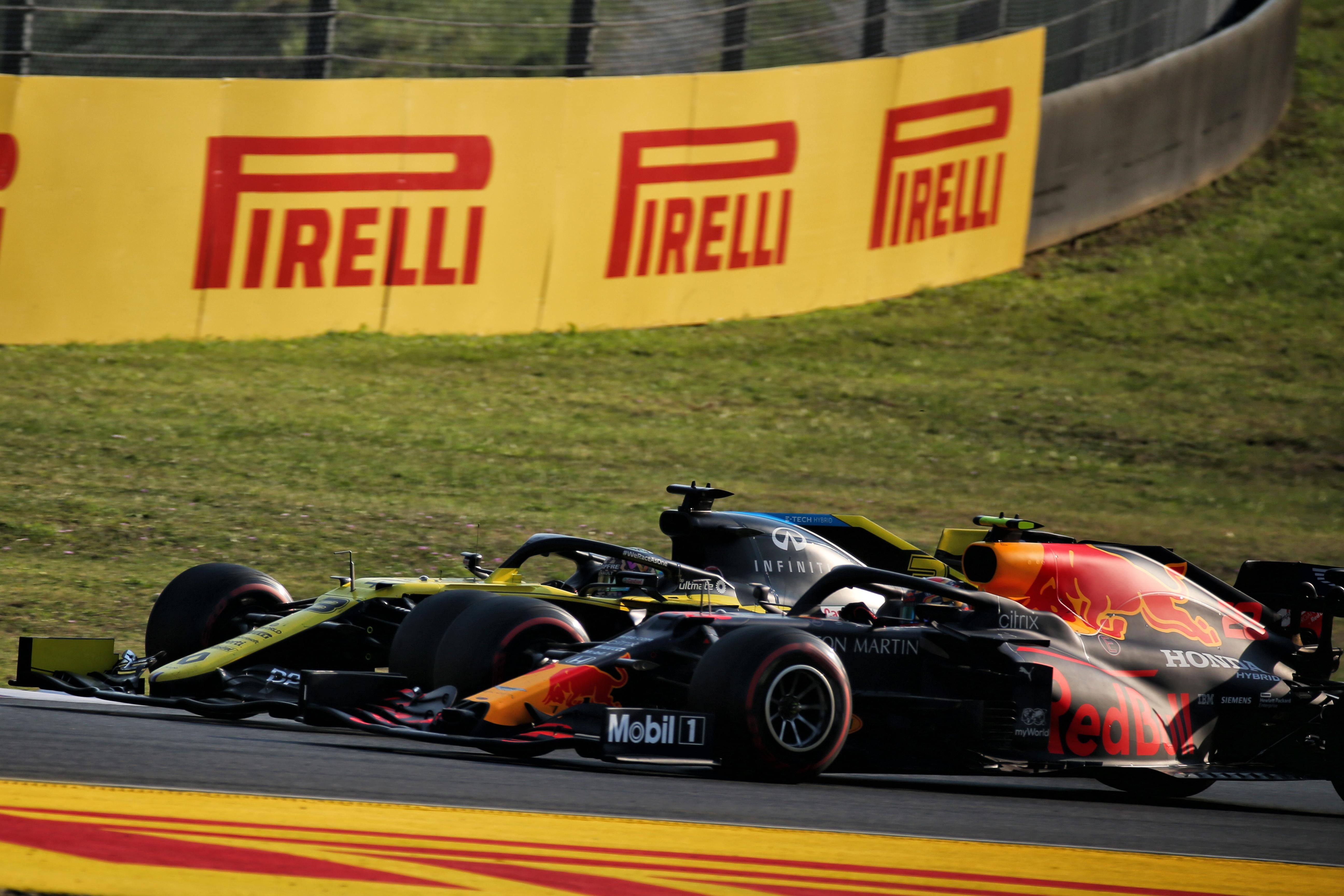 Daniel Ricciardo Alex Albon
