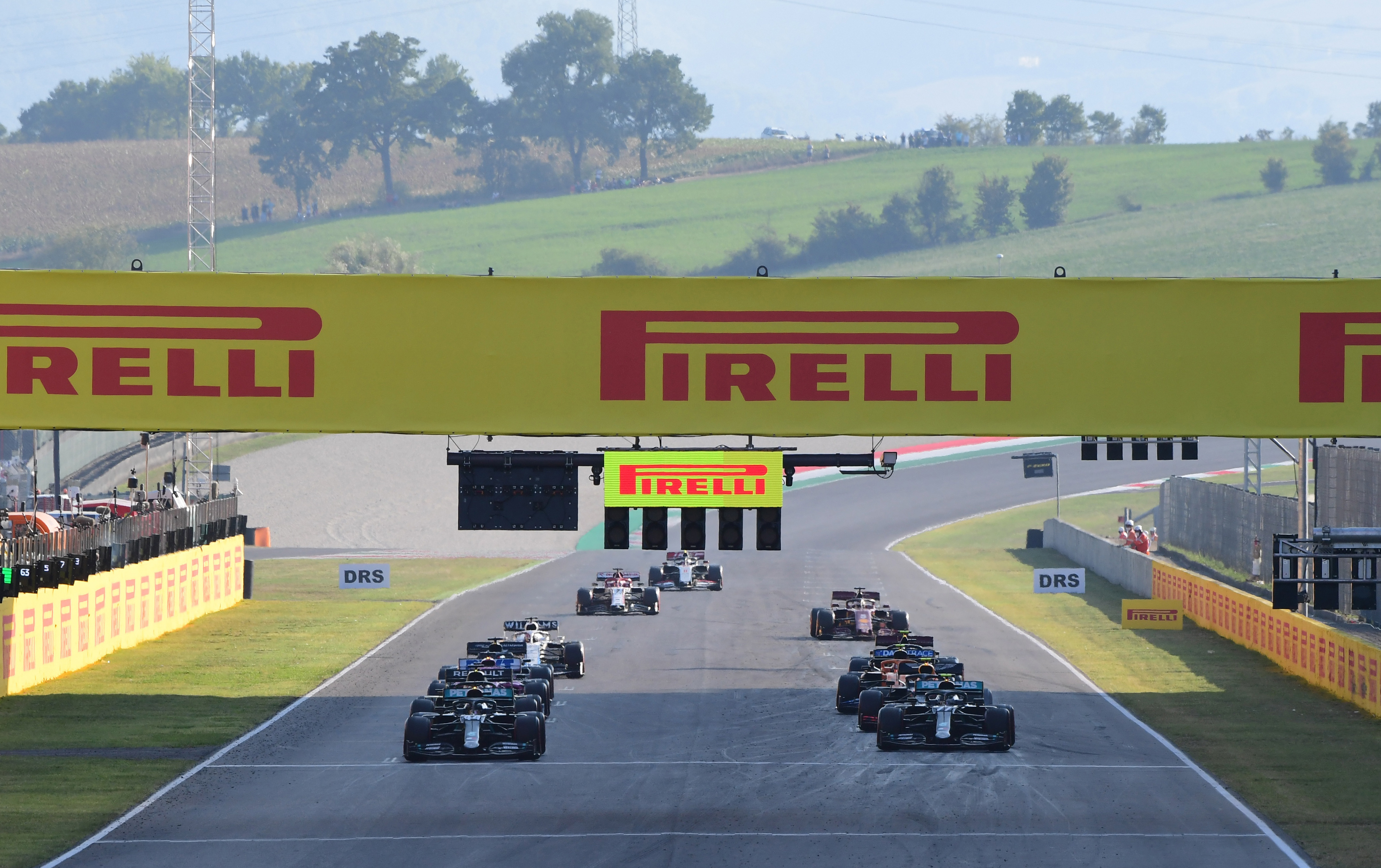 Motor Racing Formula One World Championship Tuscan Grand Prix Race Day Mugello, Italy