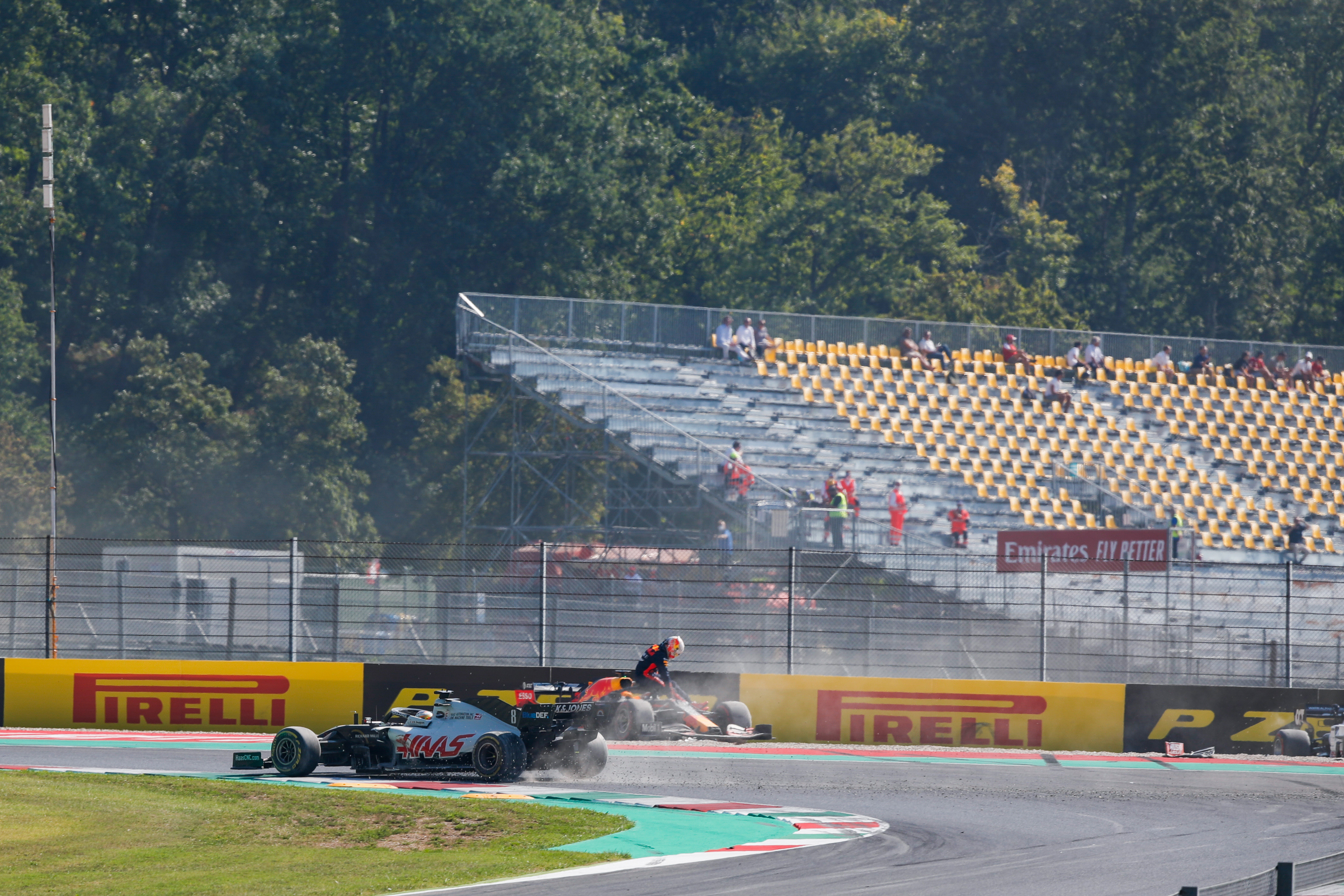 Max Verstappen crash Mugello 2020