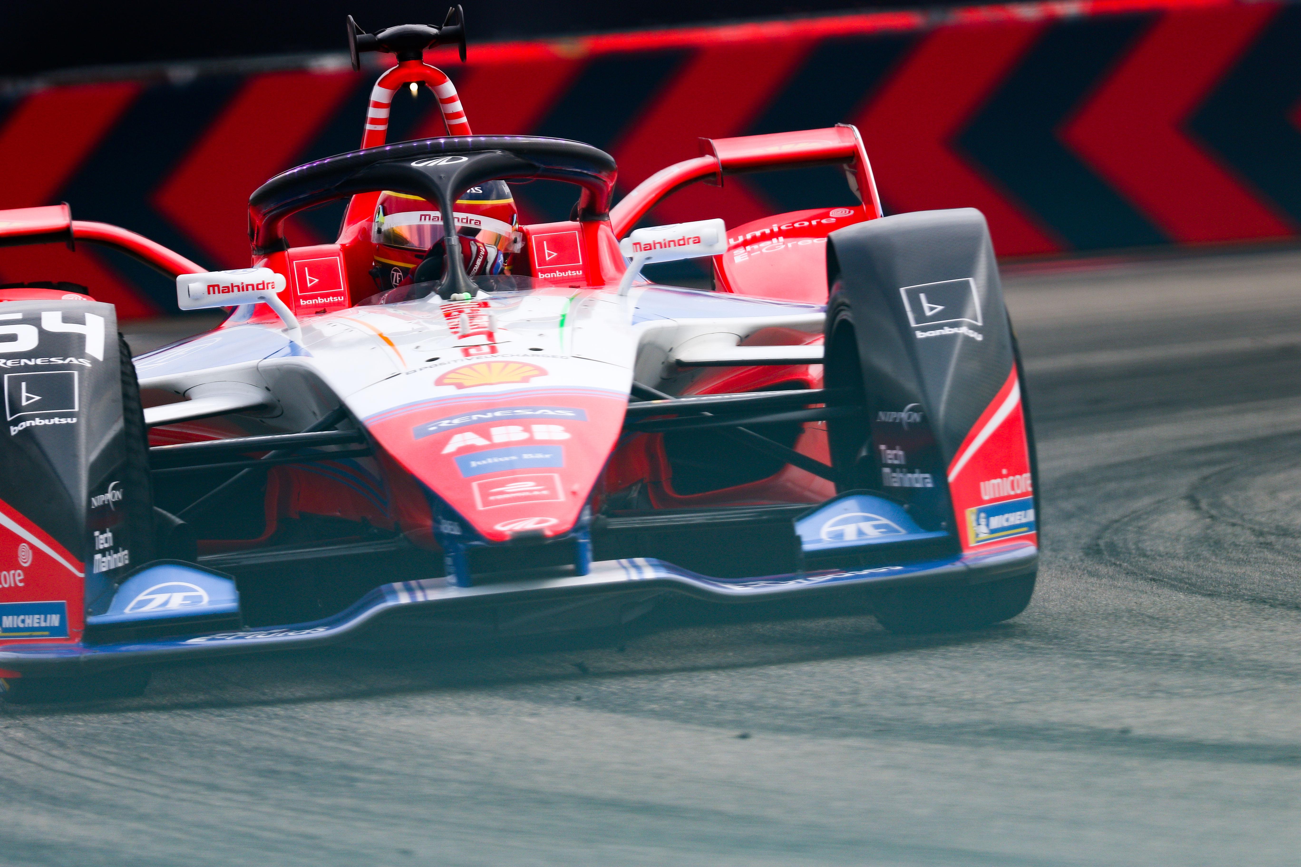 Jerome D'Ambrosio Mahindra Berlin Formula E 2020