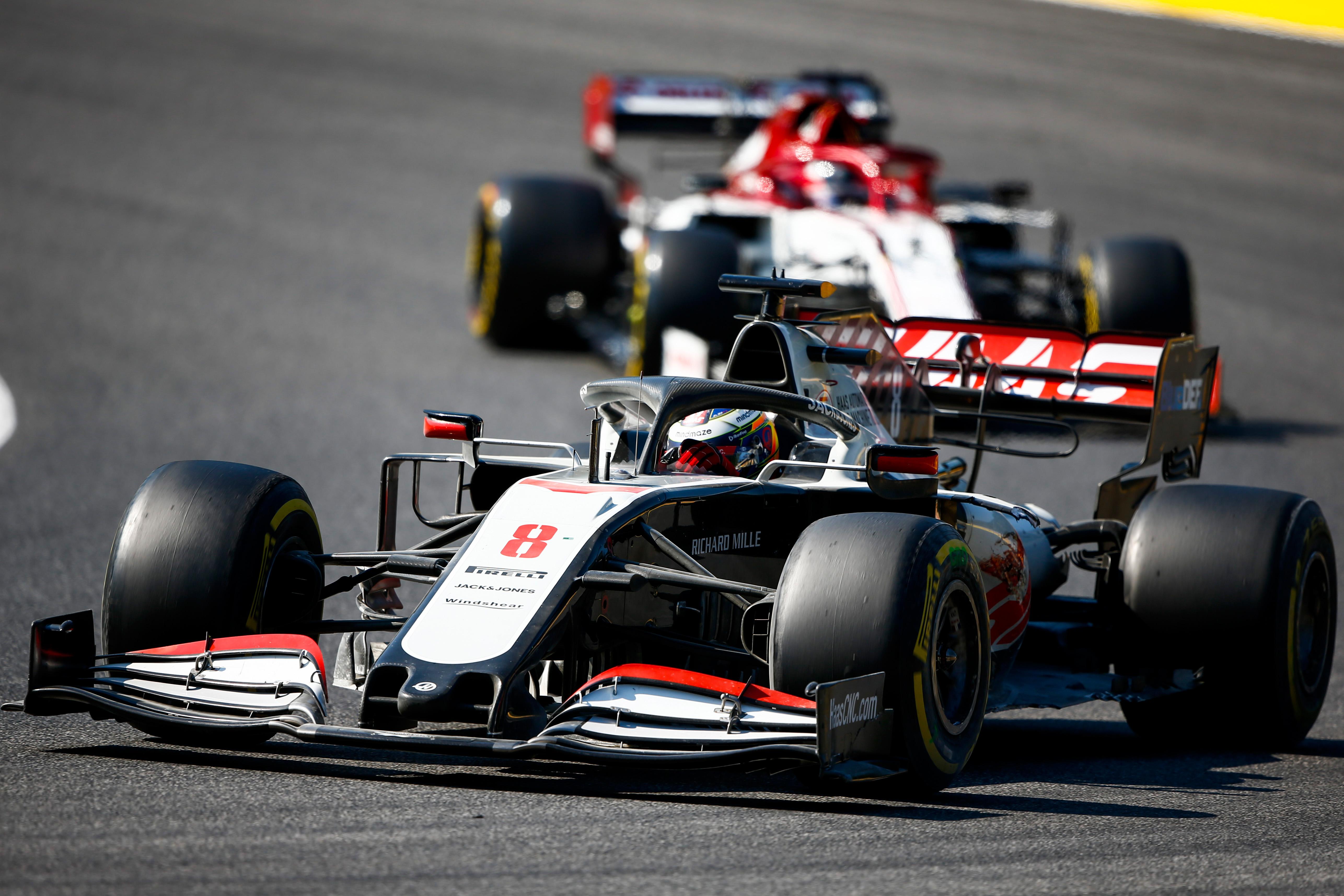 Romain Grosjean Haas Tuscan Grand Prix 2020 Mugello