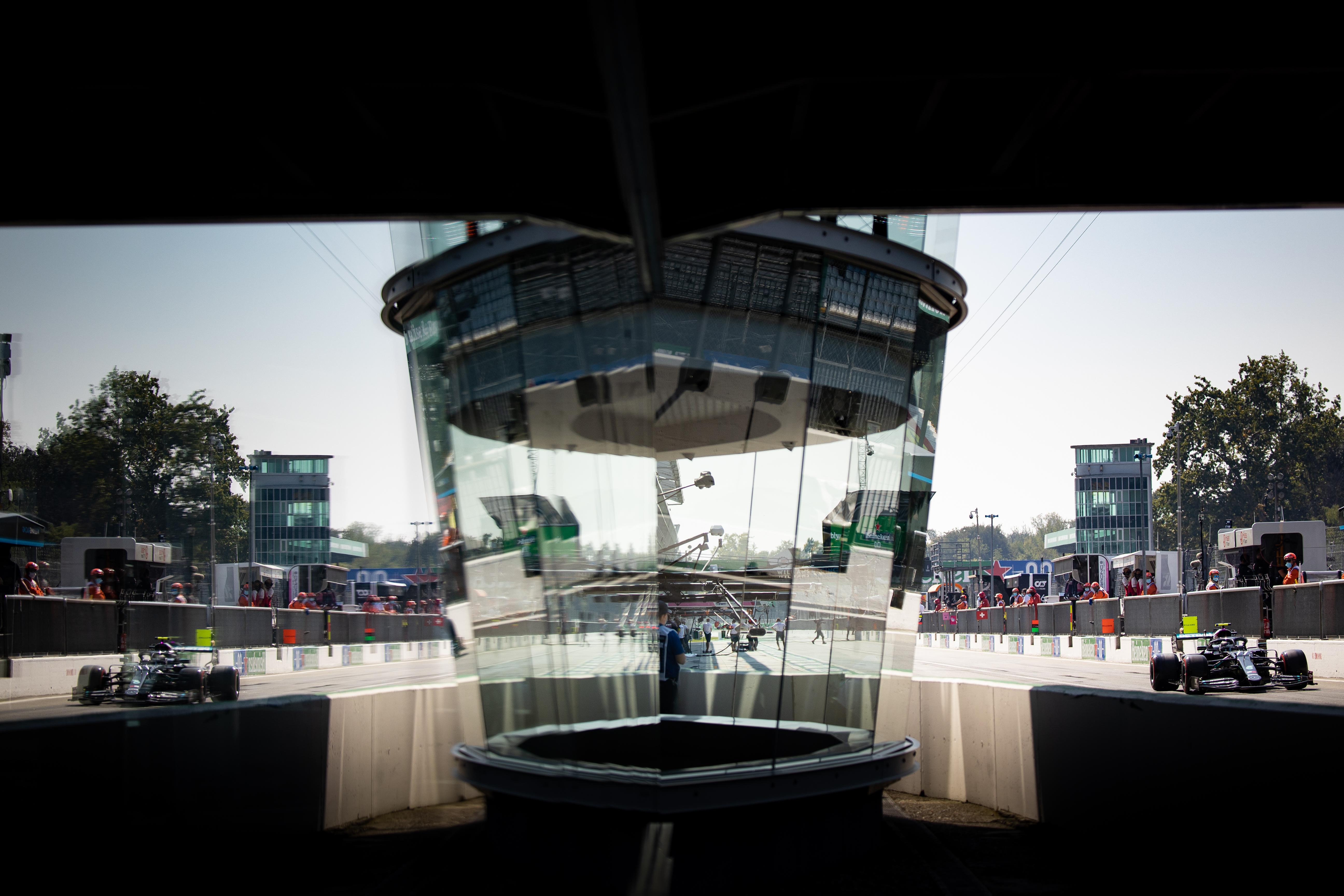 Valtteri Bottas Mercedes Italian Grand Prix 2020 Monza