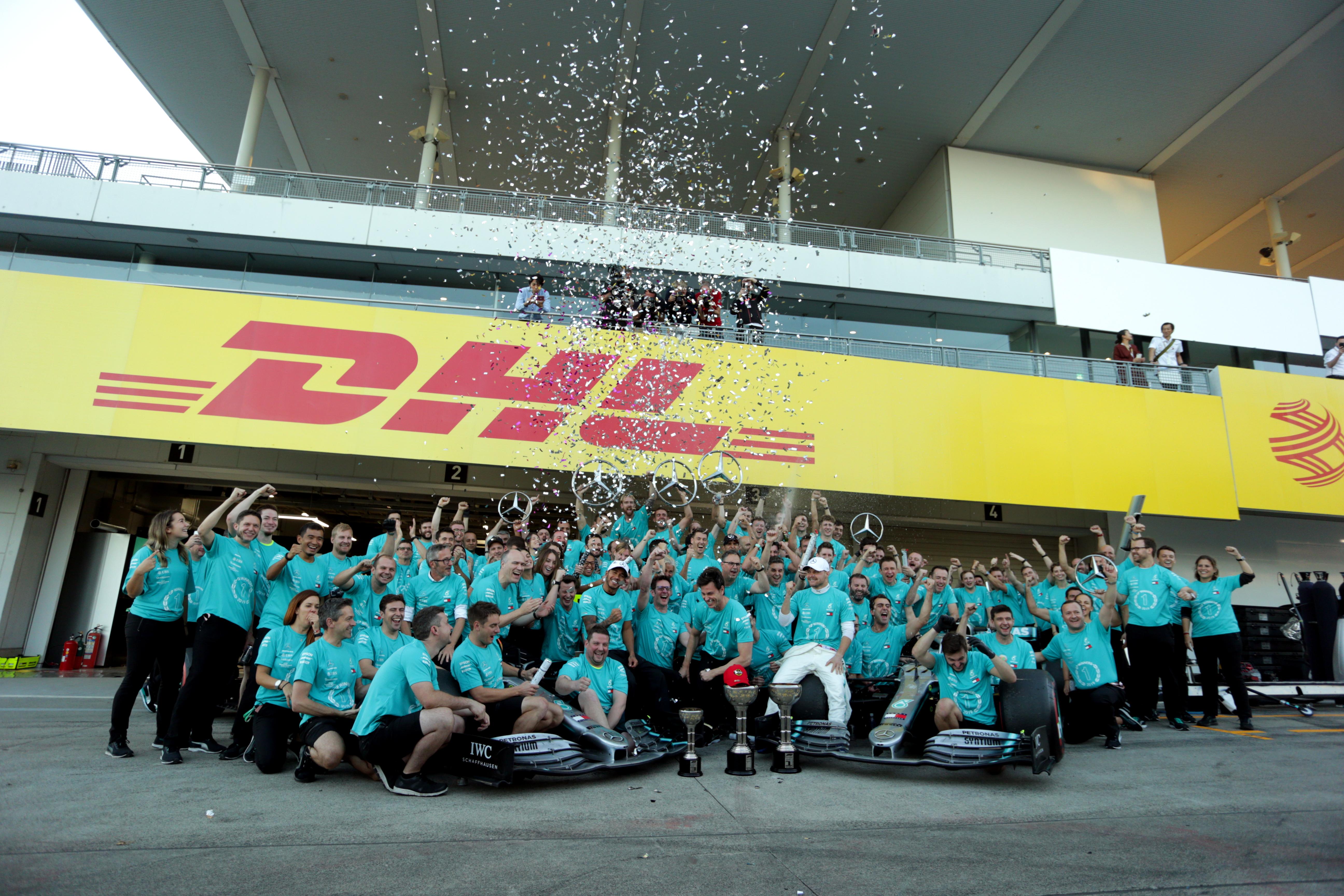 Mercedes wins 2019 constructors' championship