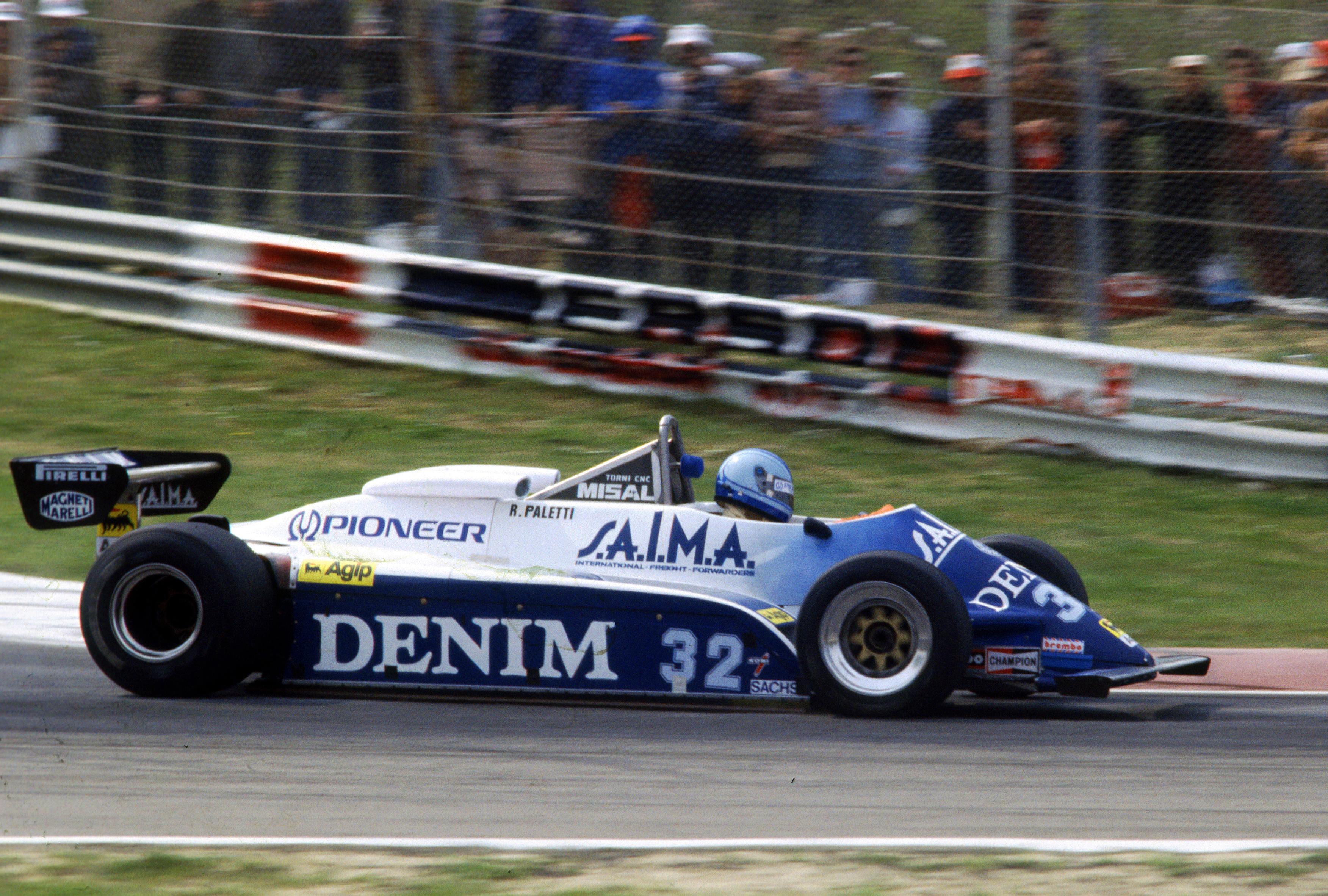 Riccardo Paletti Osella Imola 1982