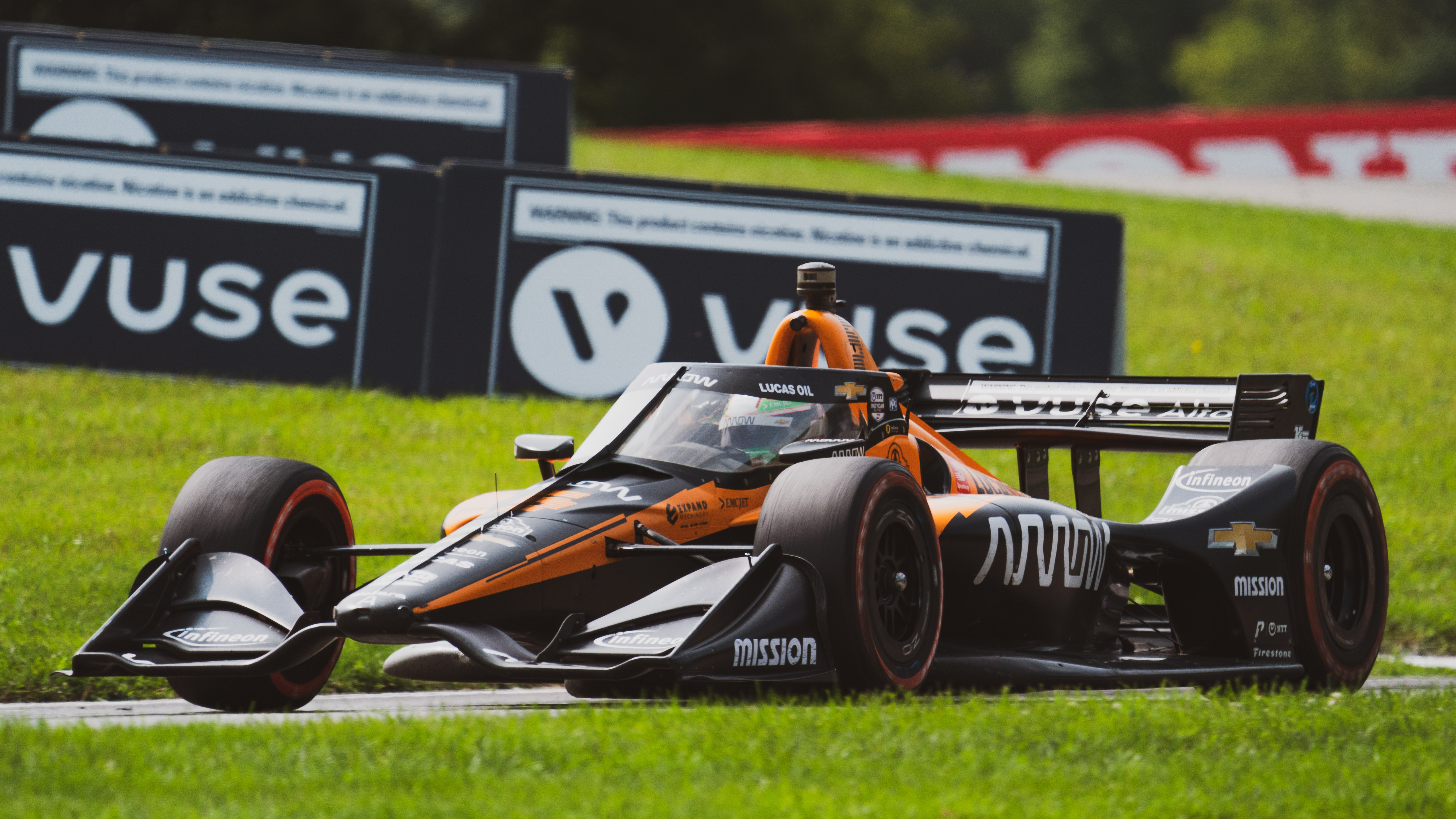 Pato O'Ward Arrow McLaren SP Mid-Ohio IndyCar 2020