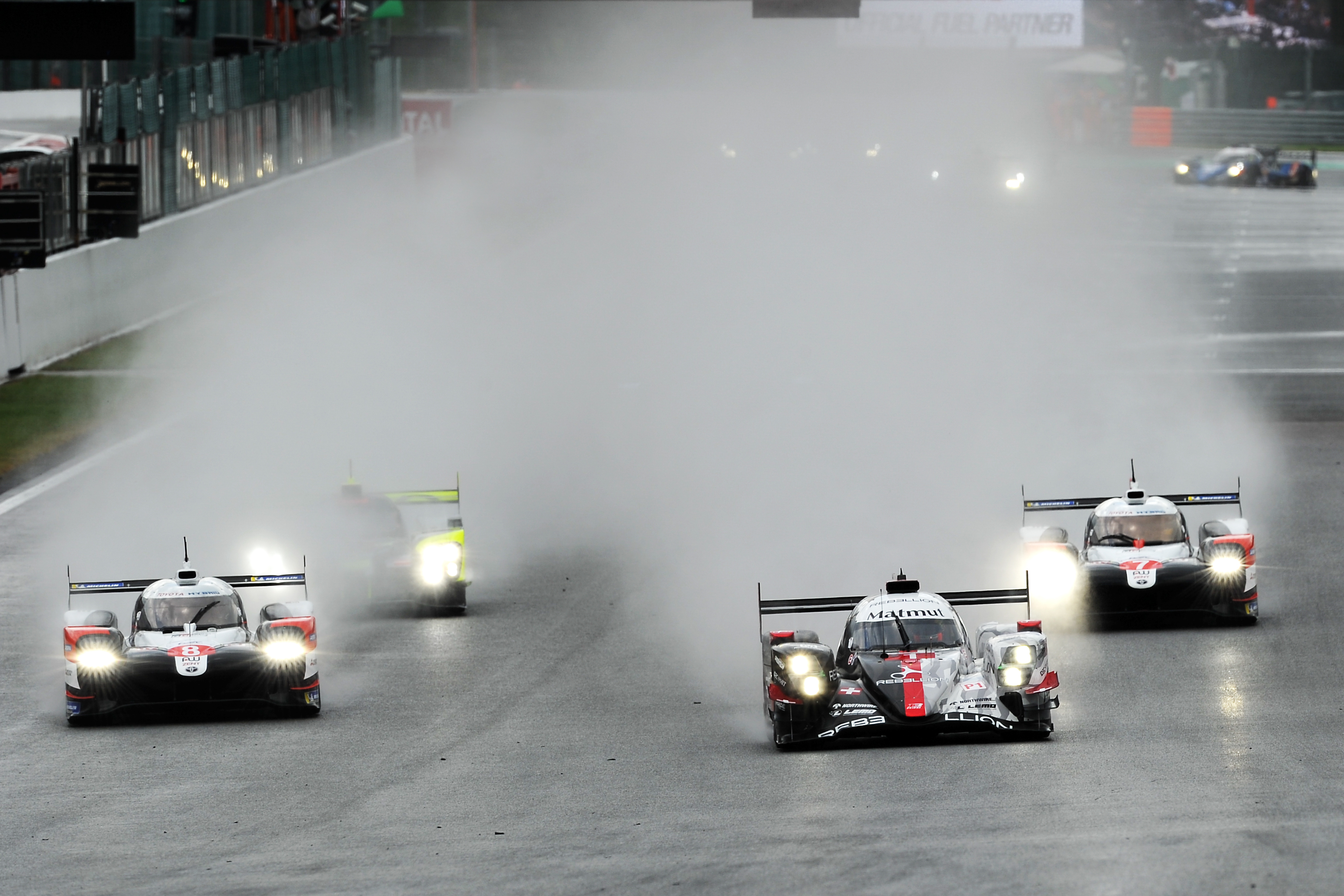 Motor Racing Fia World Endurance Championship Wec Round 1 Spa Francorchamps, Belgium