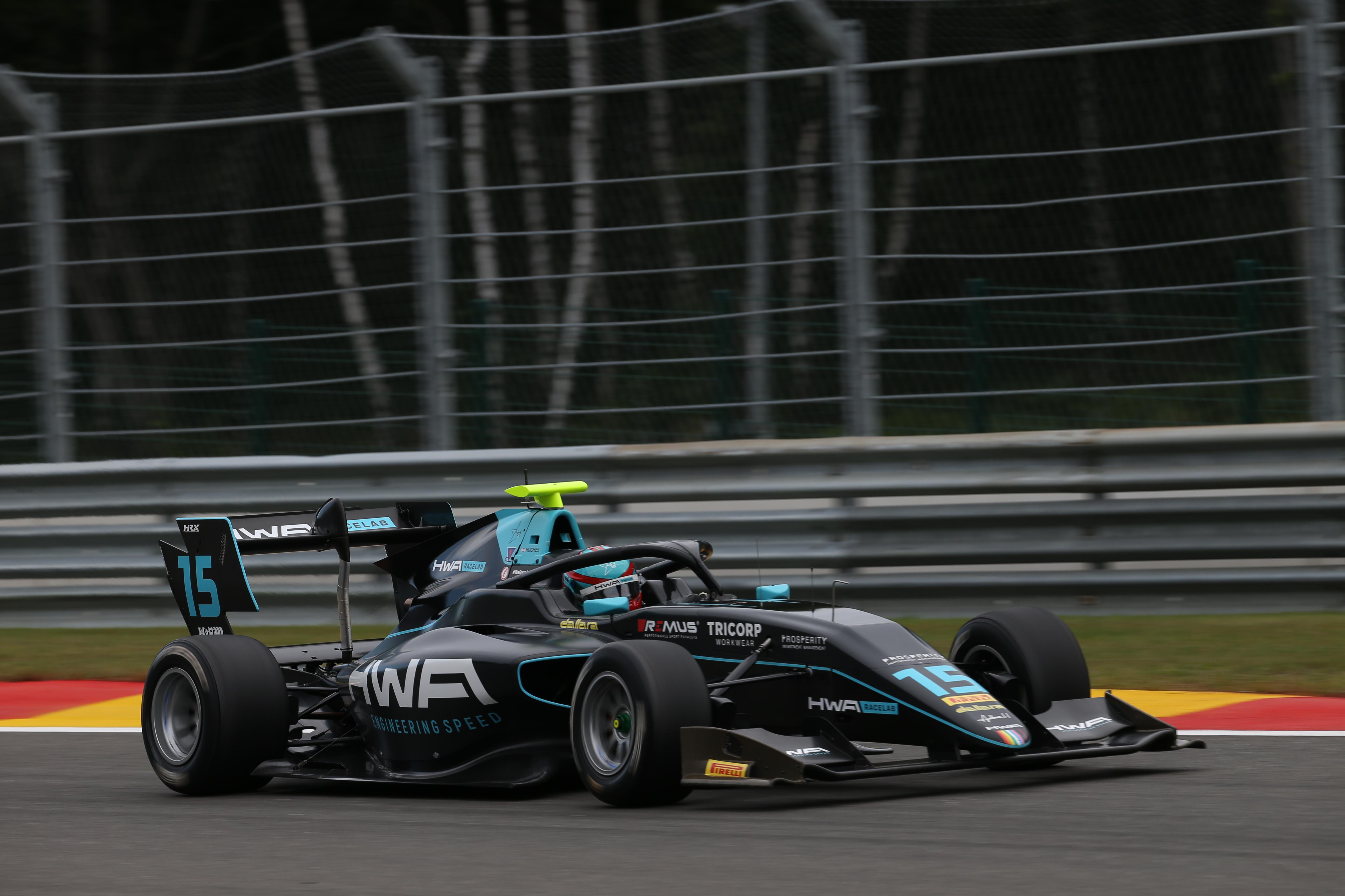 Motor Racing Fia Formula 3 Championship Friday Spa Francorchamps, Belgium