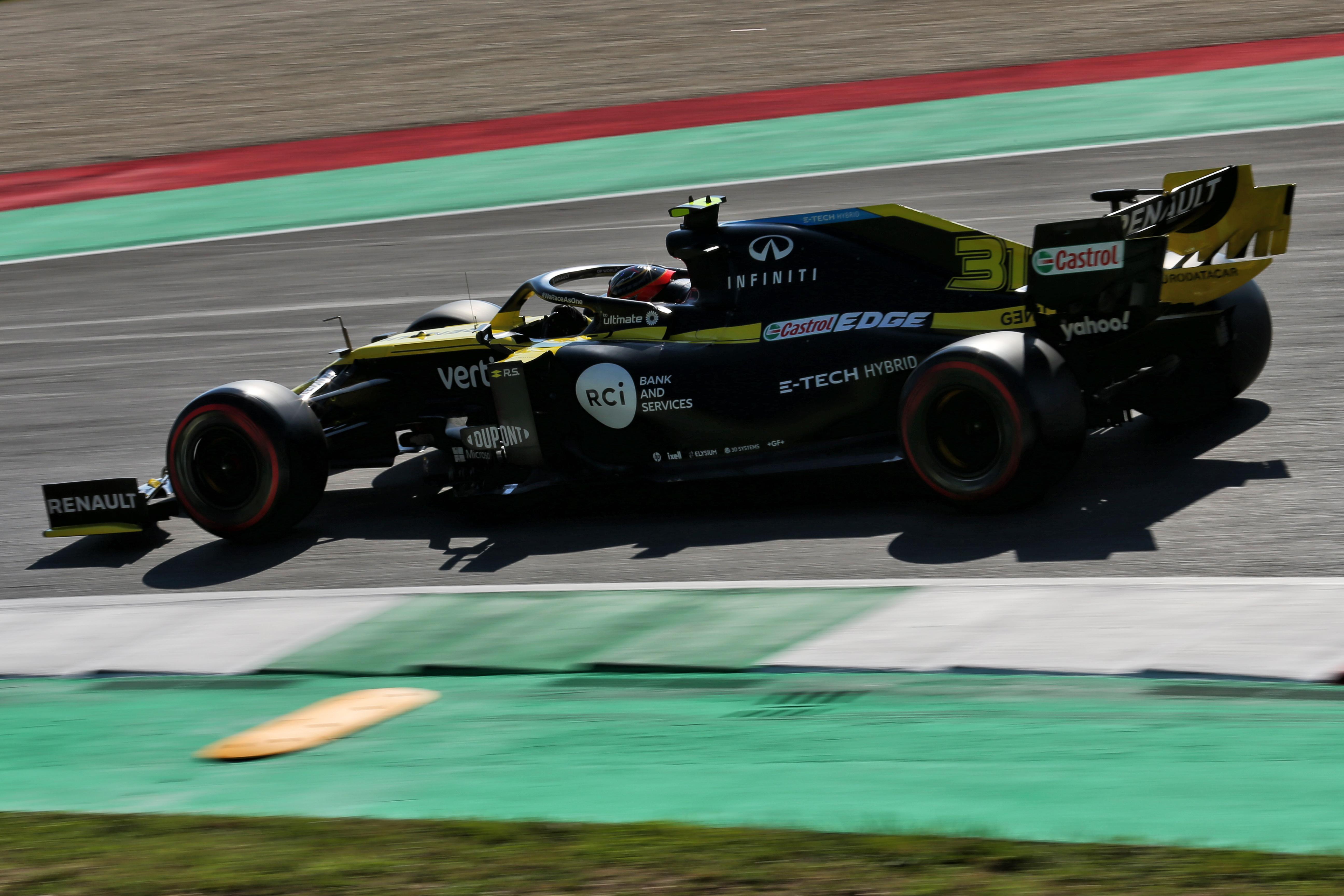 Esteban Ocon Renault Mugello 2020