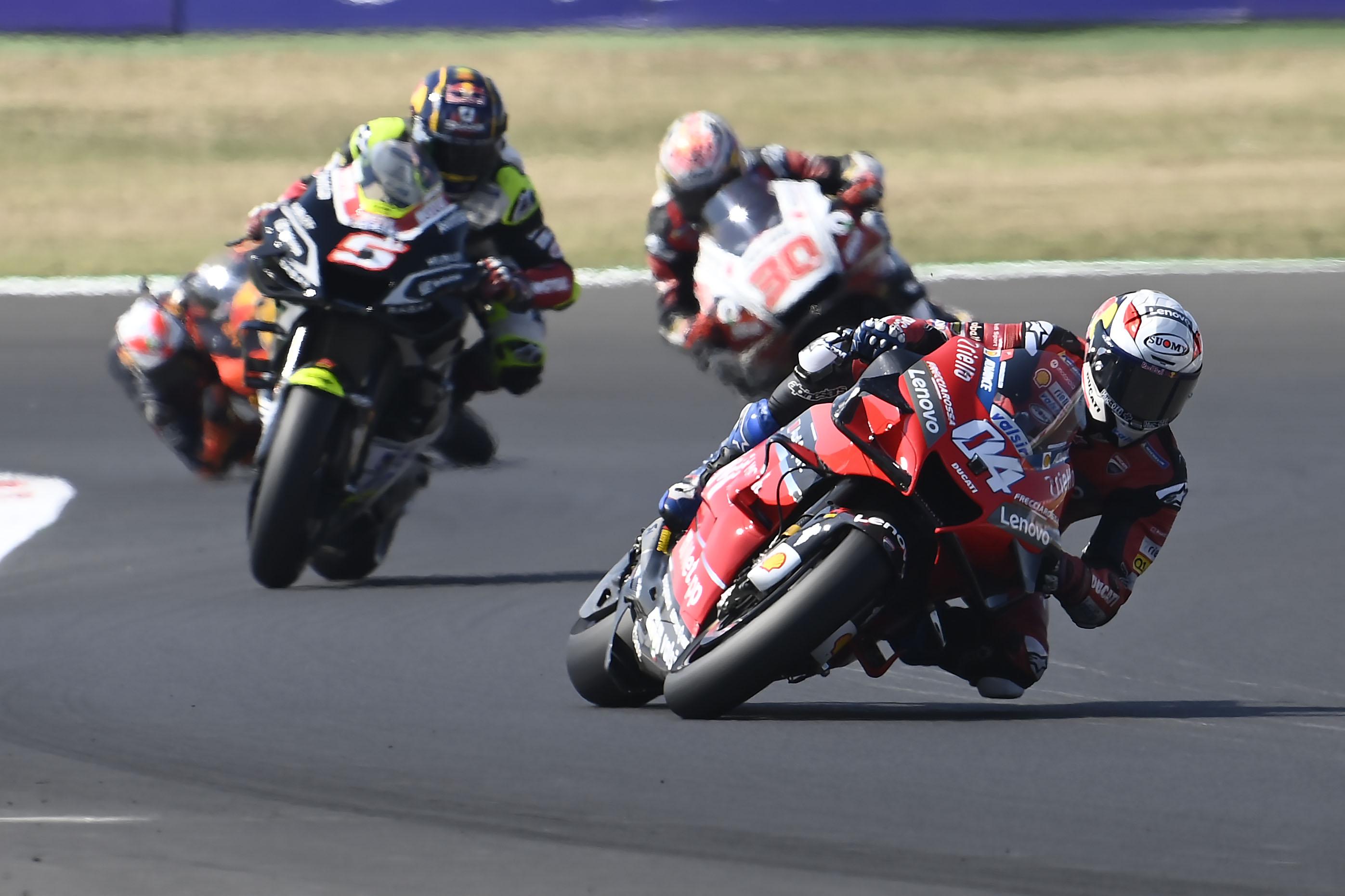 Andrea Dovizioso Ducati Misano MotoGP 2020