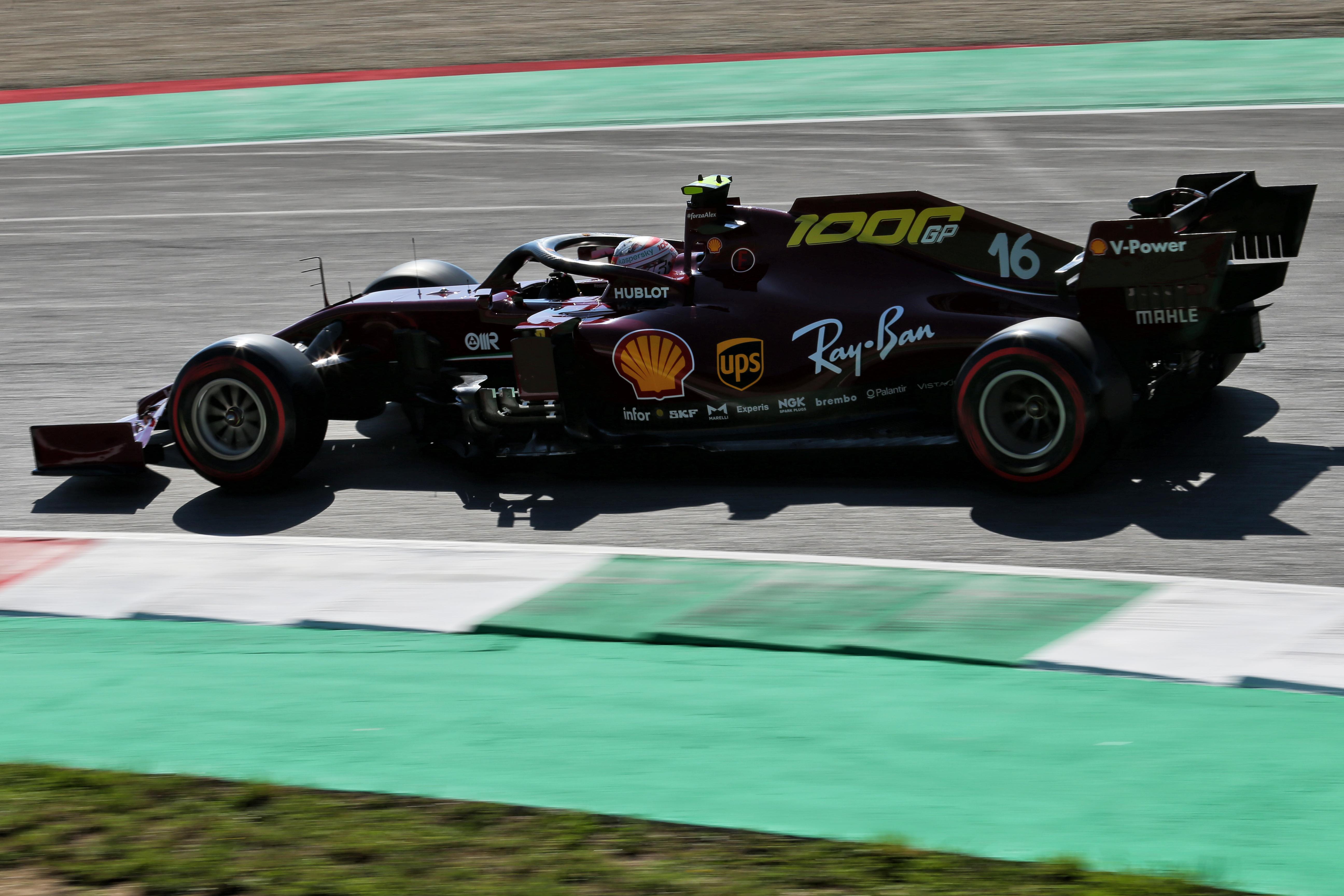 Charles Leclerc Ferrari Mugello 2020