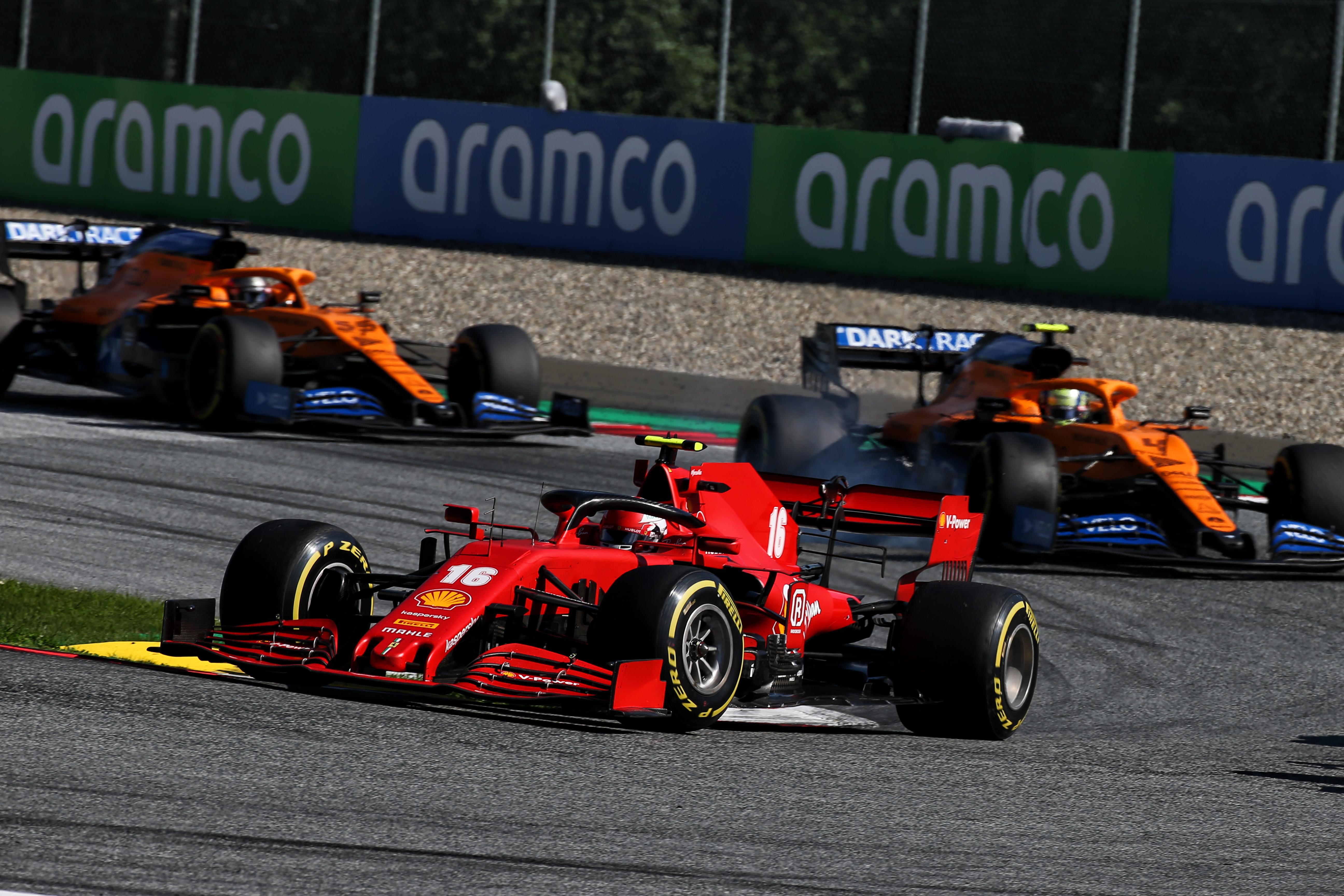 Charles Leclerc Ferrari Austrian Grand Prix 2020