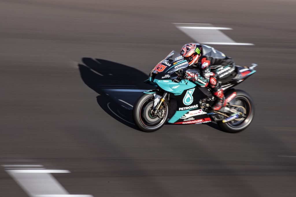 Quartararo tops first practice of second Misano weekend - The Race