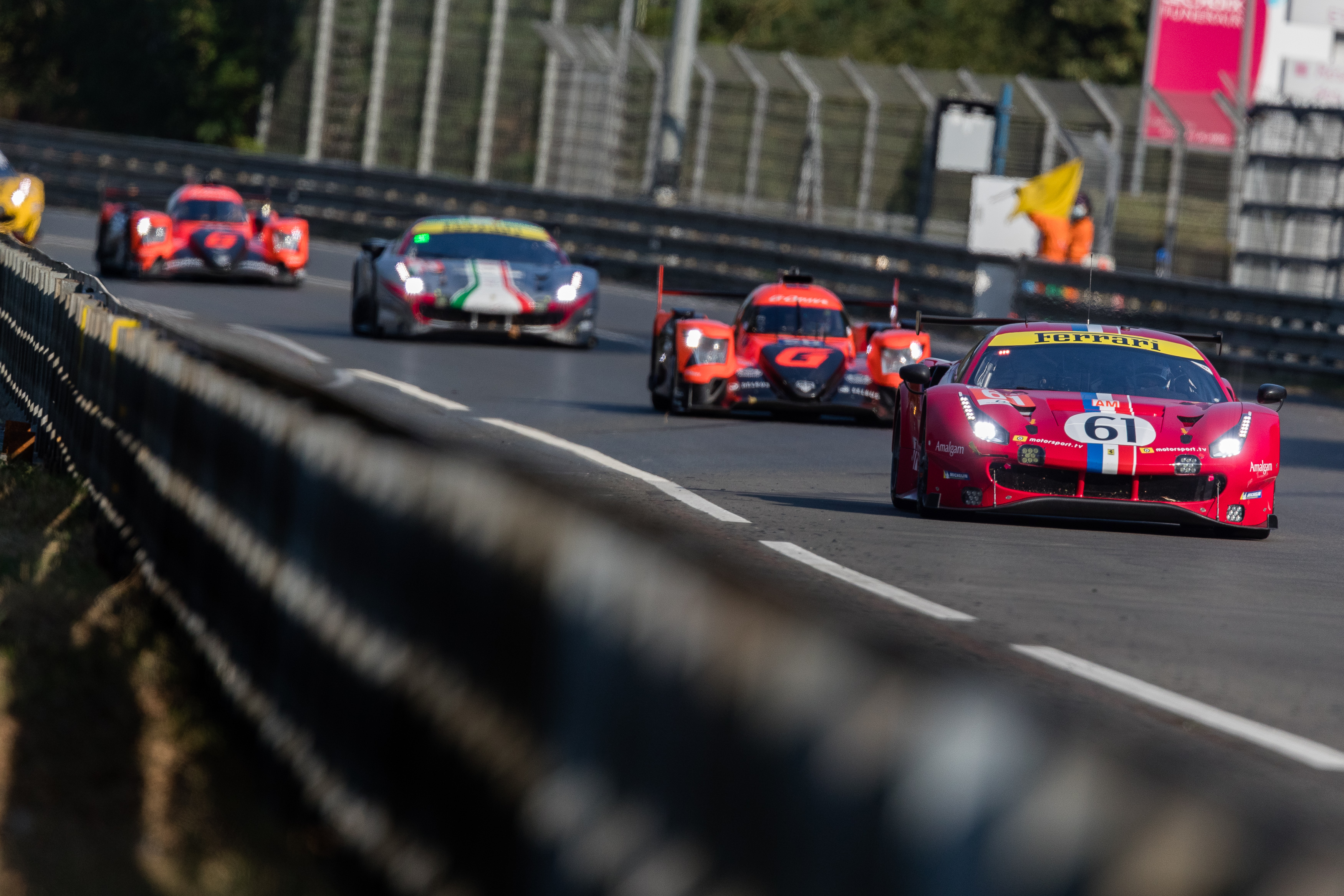 #61 Luzich Racing / Che / Ferrari 488 Gte Evo 24h Of Le Mans Circuit De La Sarthe Le Mans France