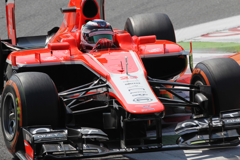 Max Chilton Marussia 2013