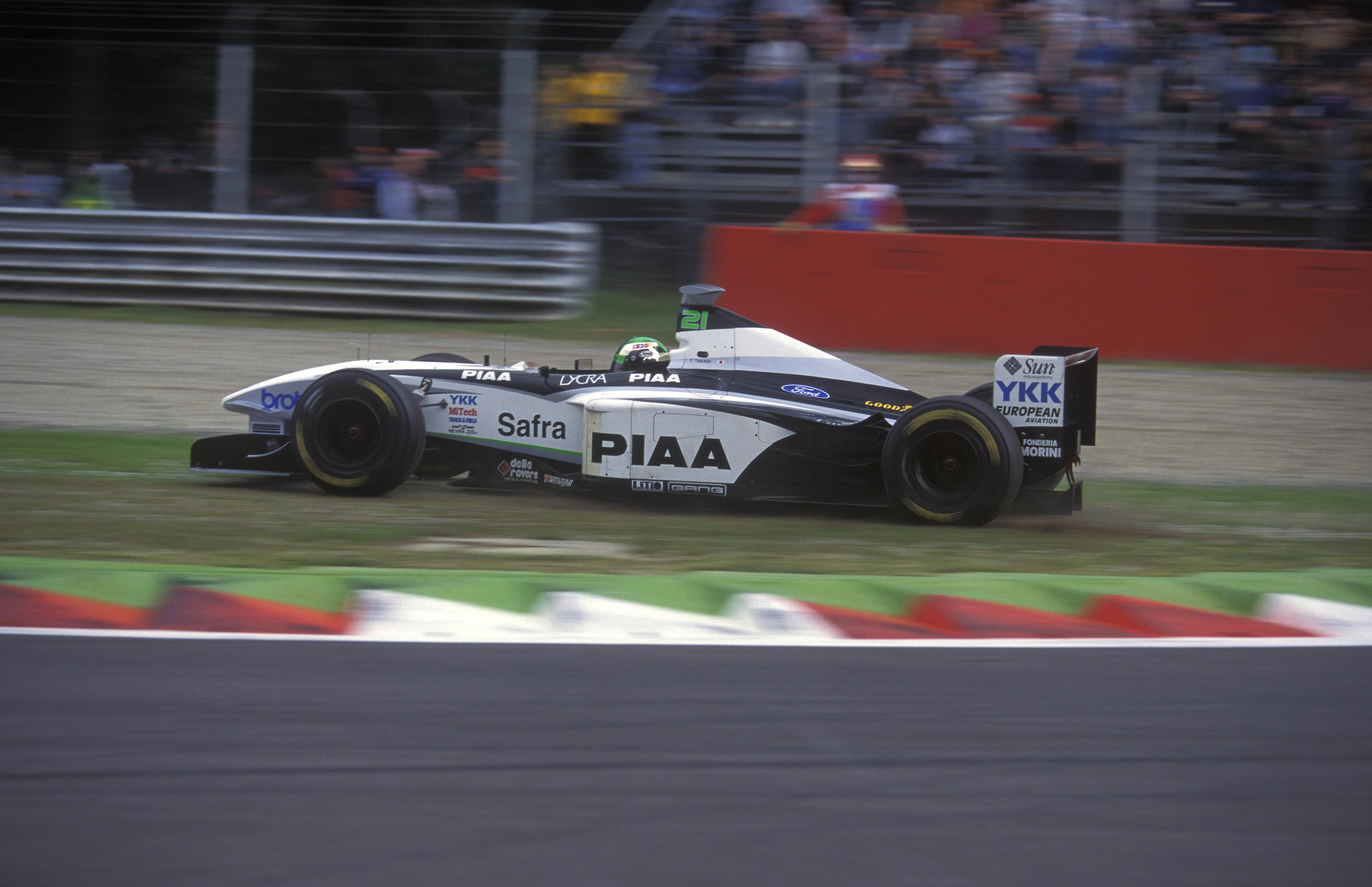 Tora Takagi Tyrrell Monza 1998
