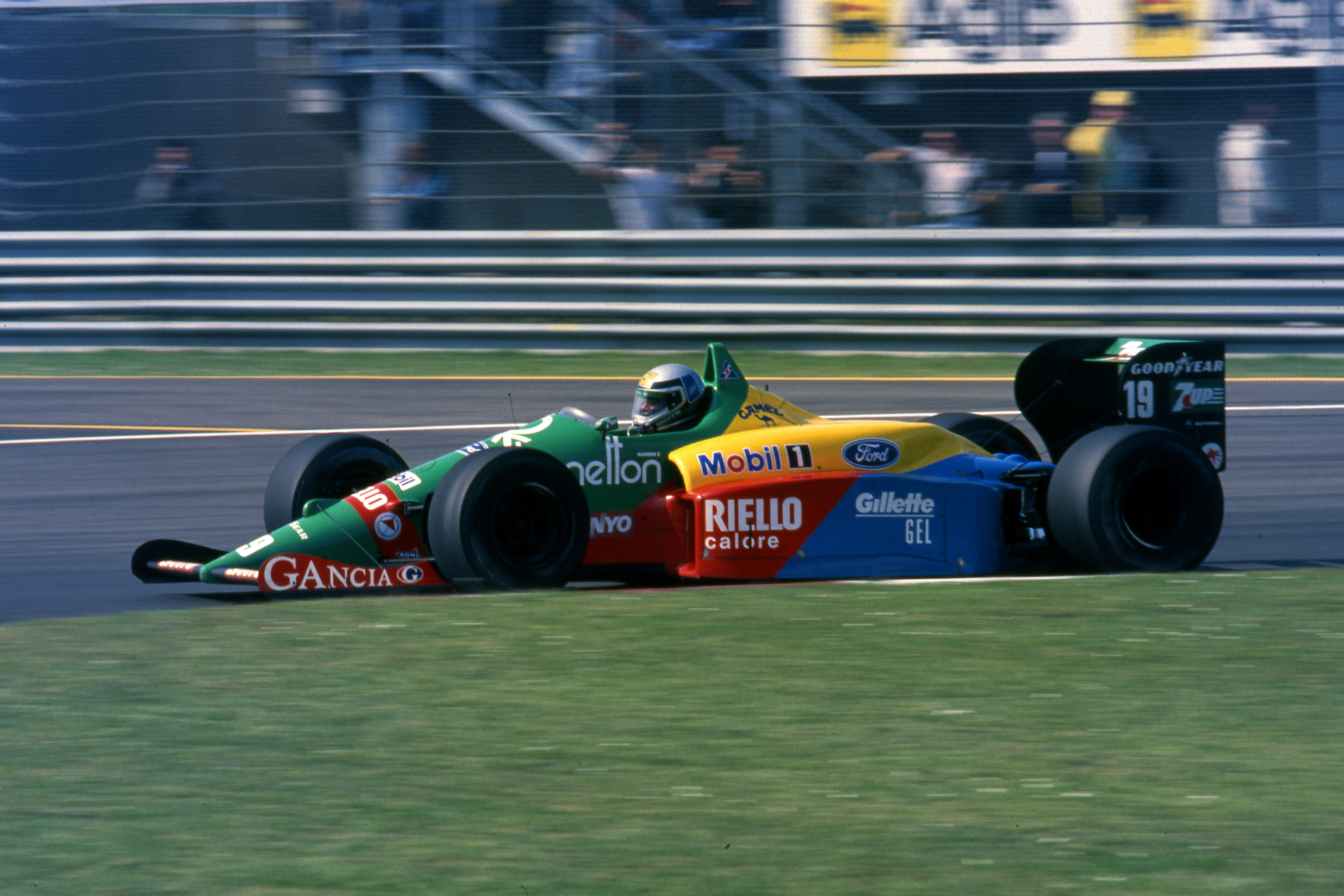 Alessandro Nannini Benetton 1989