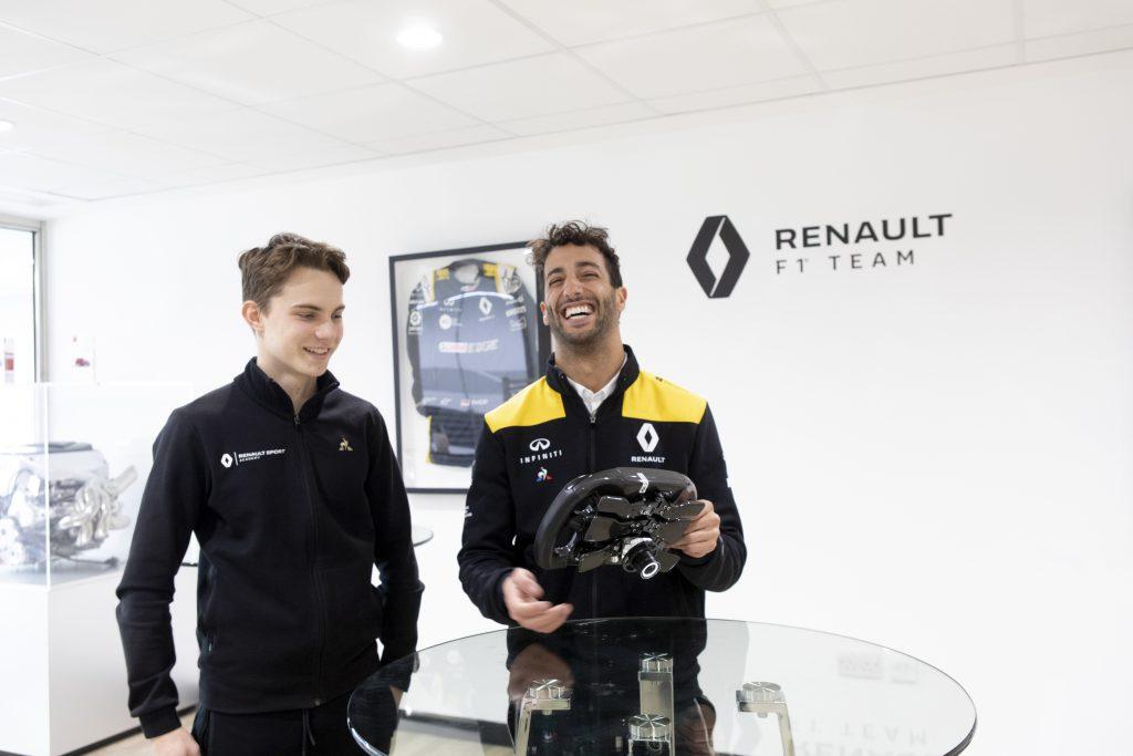 The Ricciardo-like quality behind Renault protege's 'odd' title - The Race