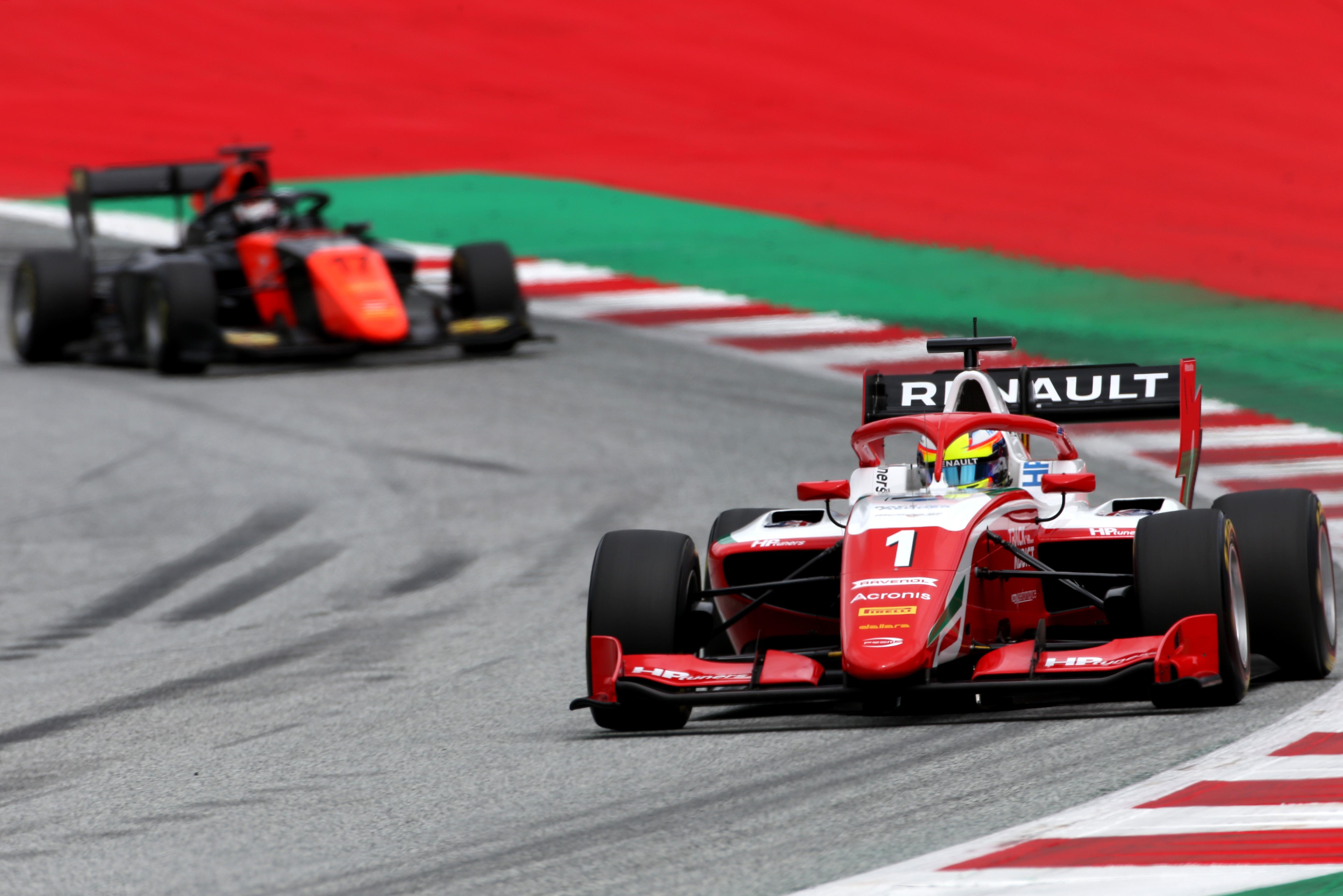 Motor Racing Fia Formula 3 Championship Friday Spielberg, Austria