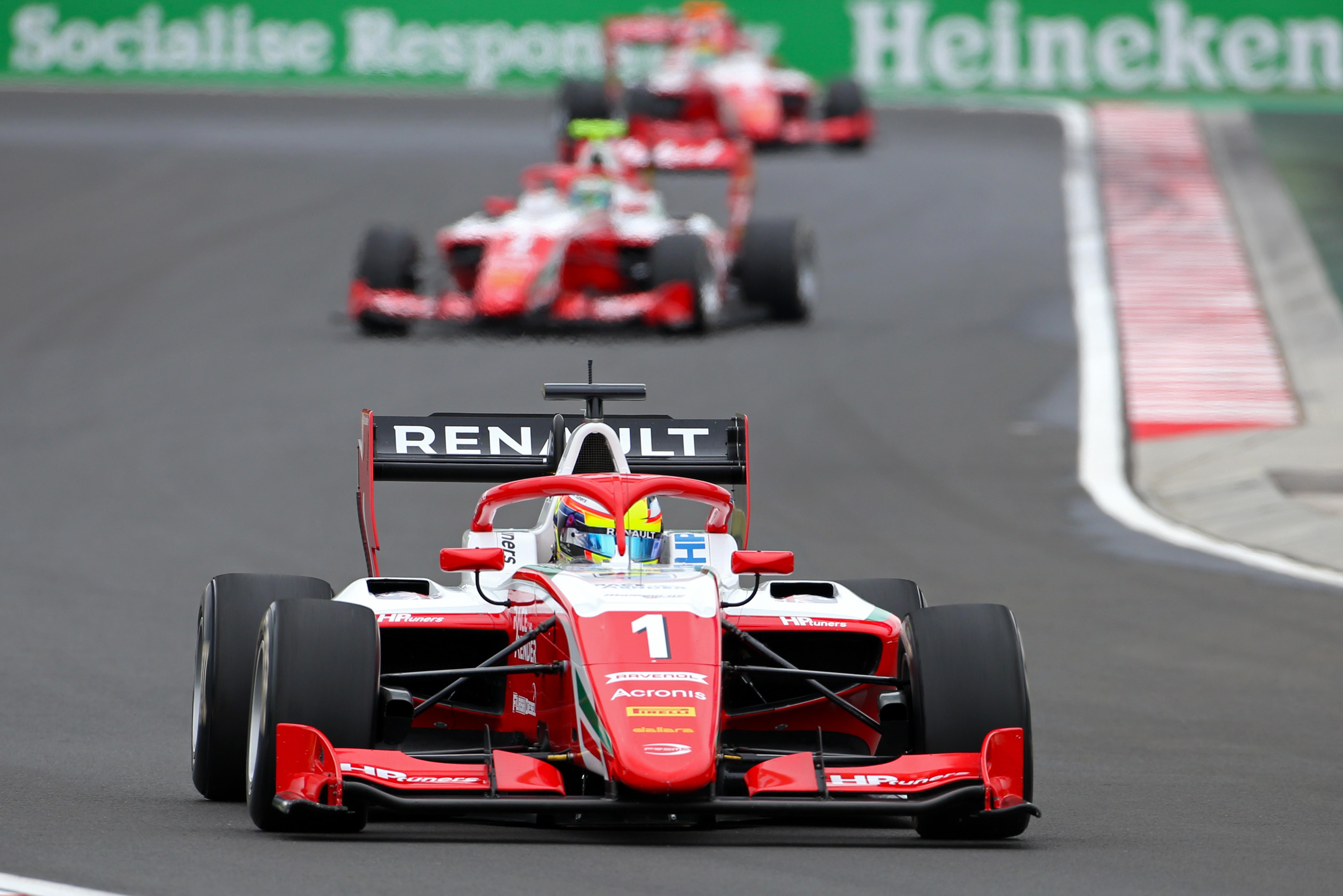 Motor Racing Fia Formula 3 Championship Friday Budapest, Hungary