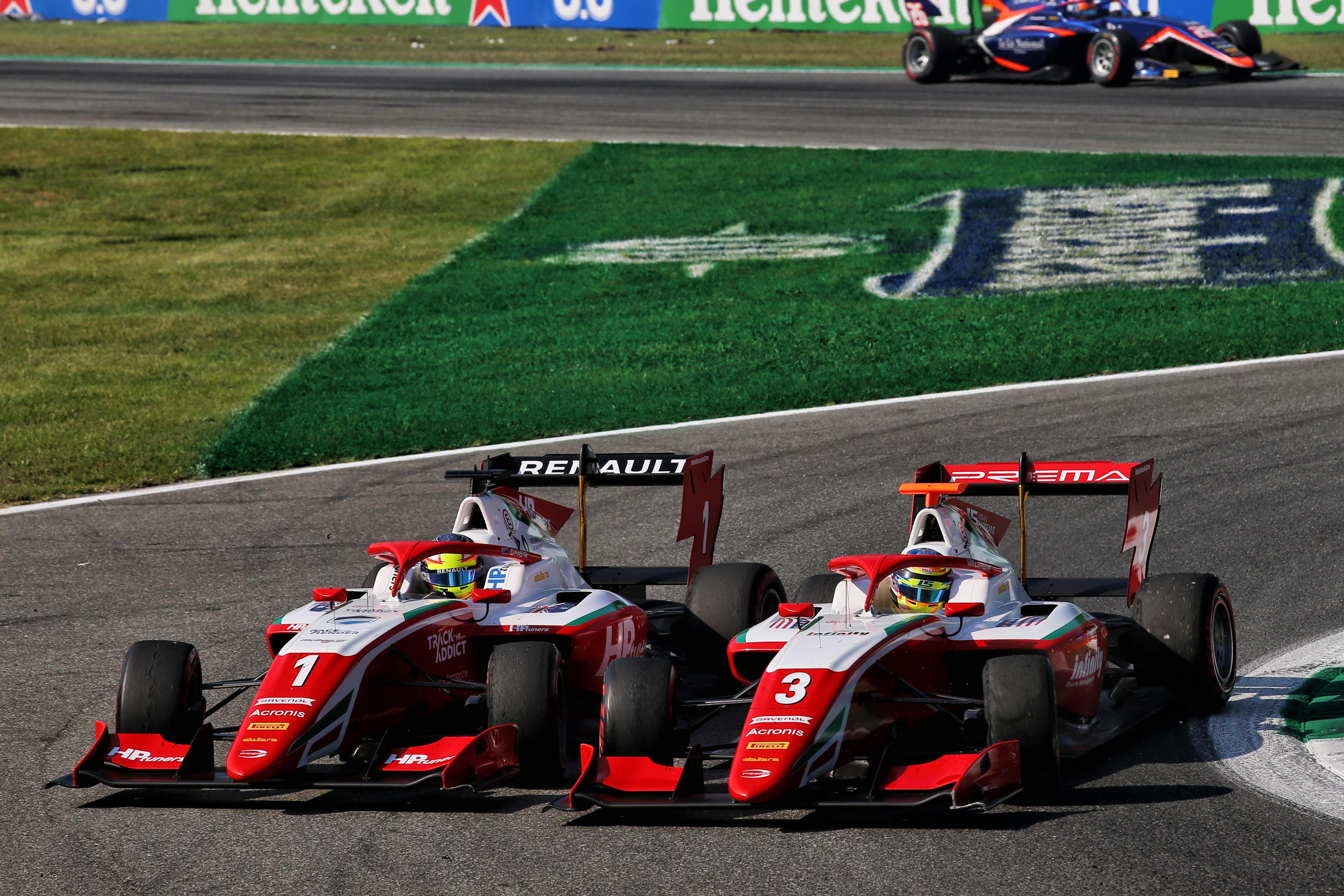 Motor Racing Fia Formula 3 Championship Saturday Monza, Italy